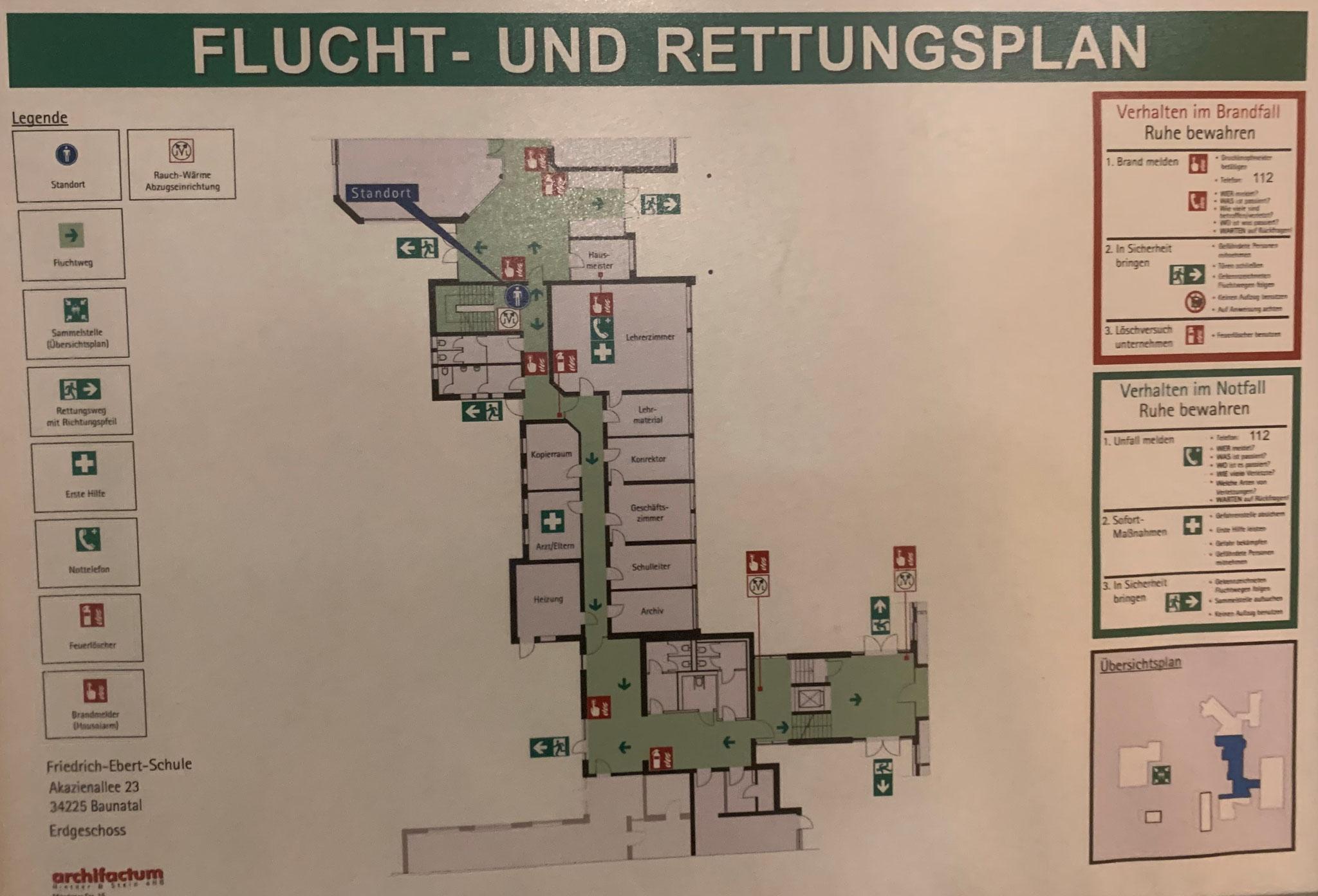 Treppenhaus Verwaltung