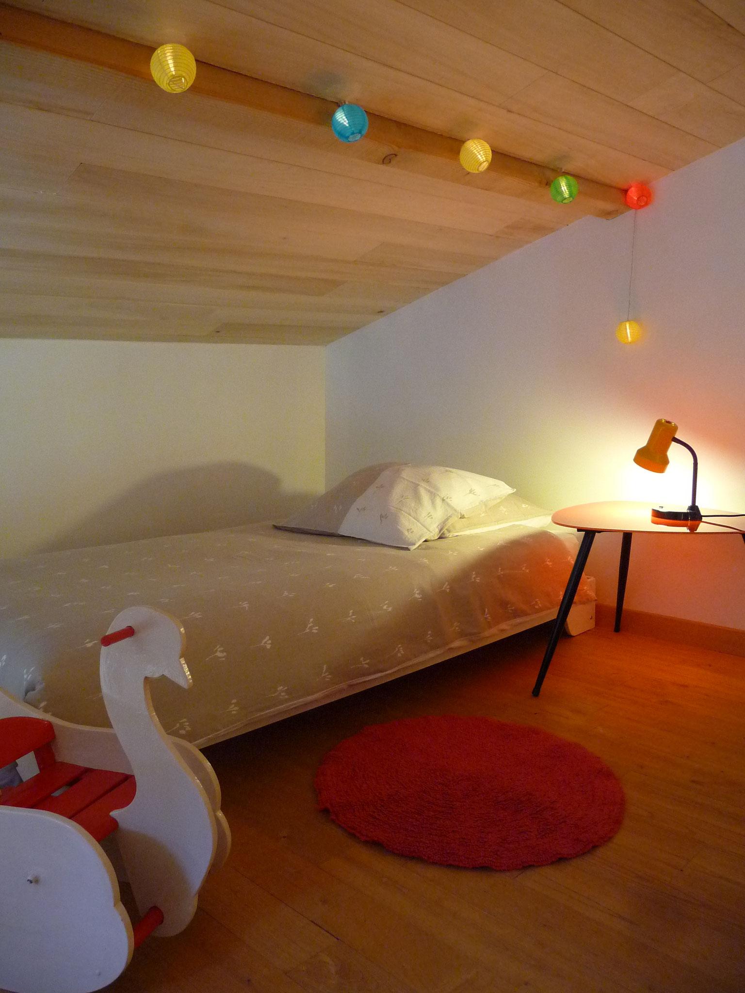 Gîte La Ponne, lit simple