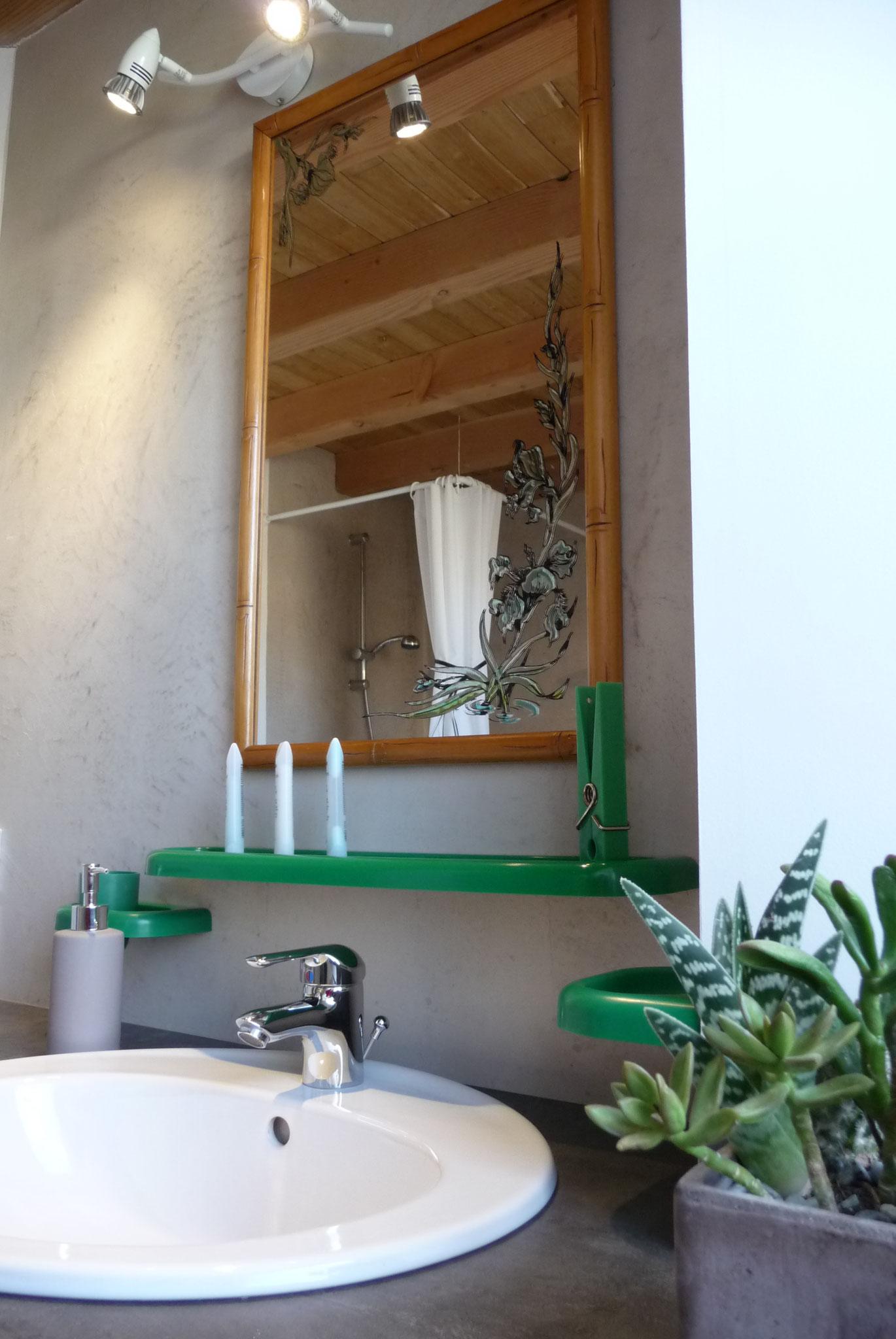 Gîte La Ponne, salle de bain
