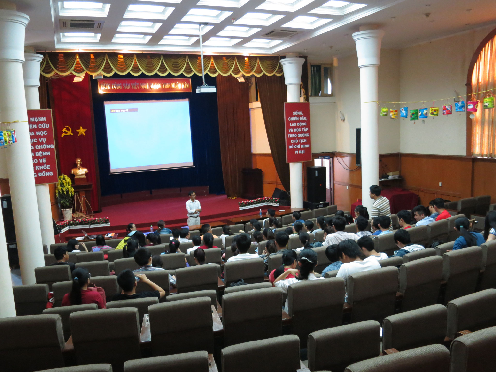 SV YHDP, Đại học Y - Dược TP. Hồ Chí Minh
