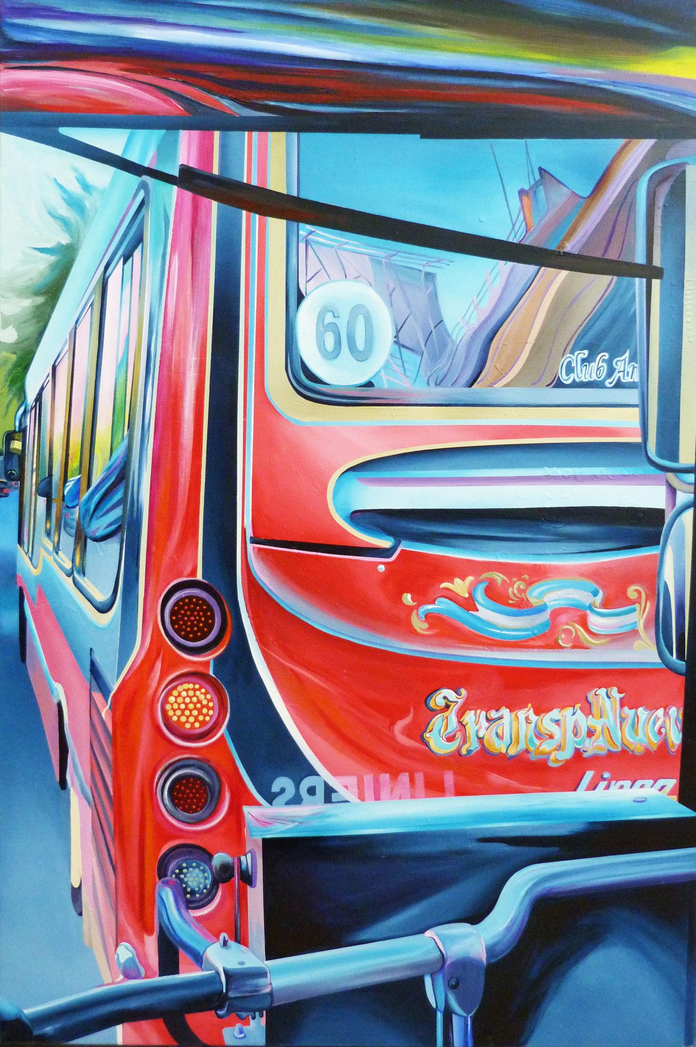 Club Del Bondi 150 cm x 100 cm Acryl auf Leinwand 2013