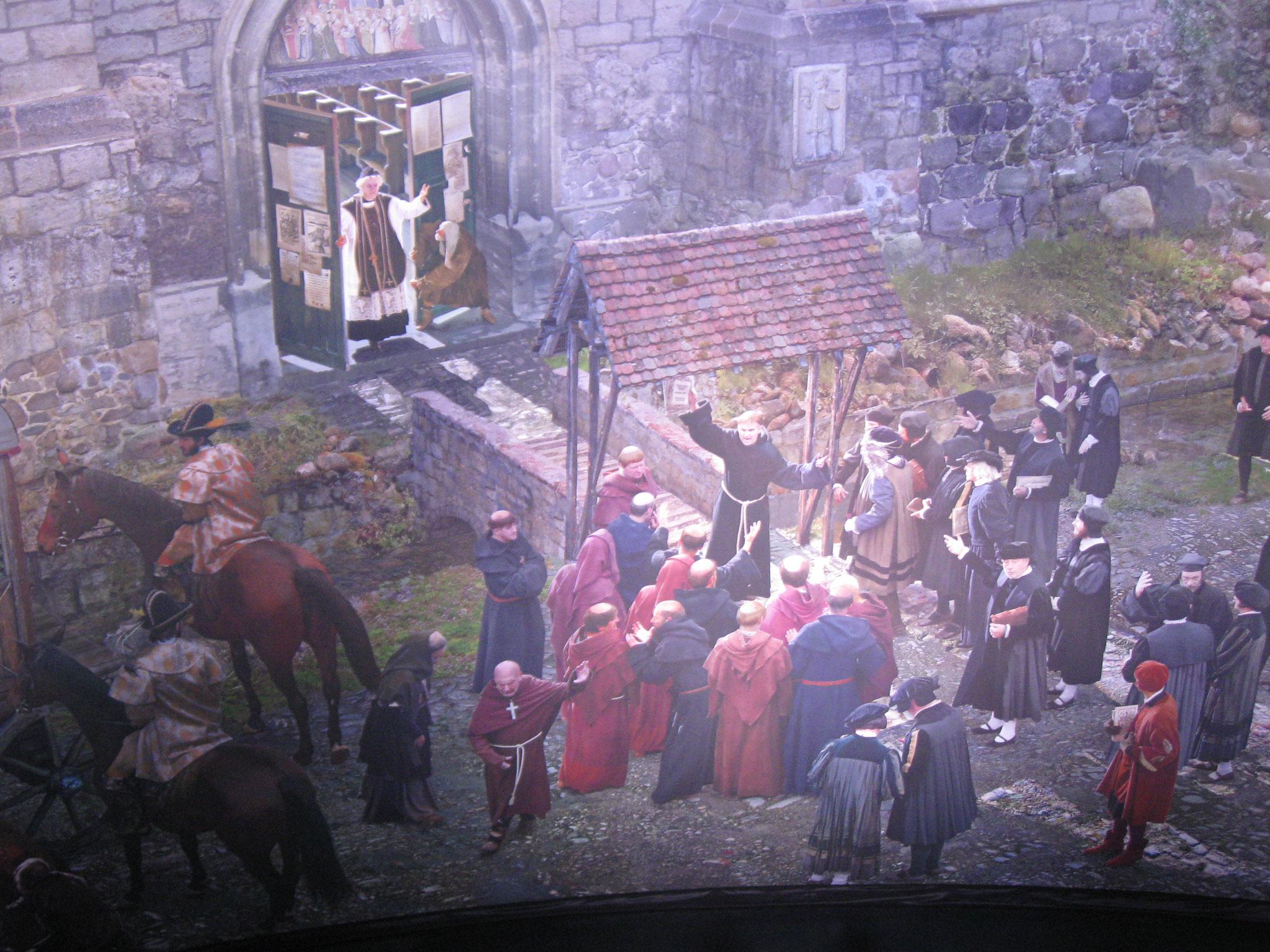 Predigt vor der Schlosskirche