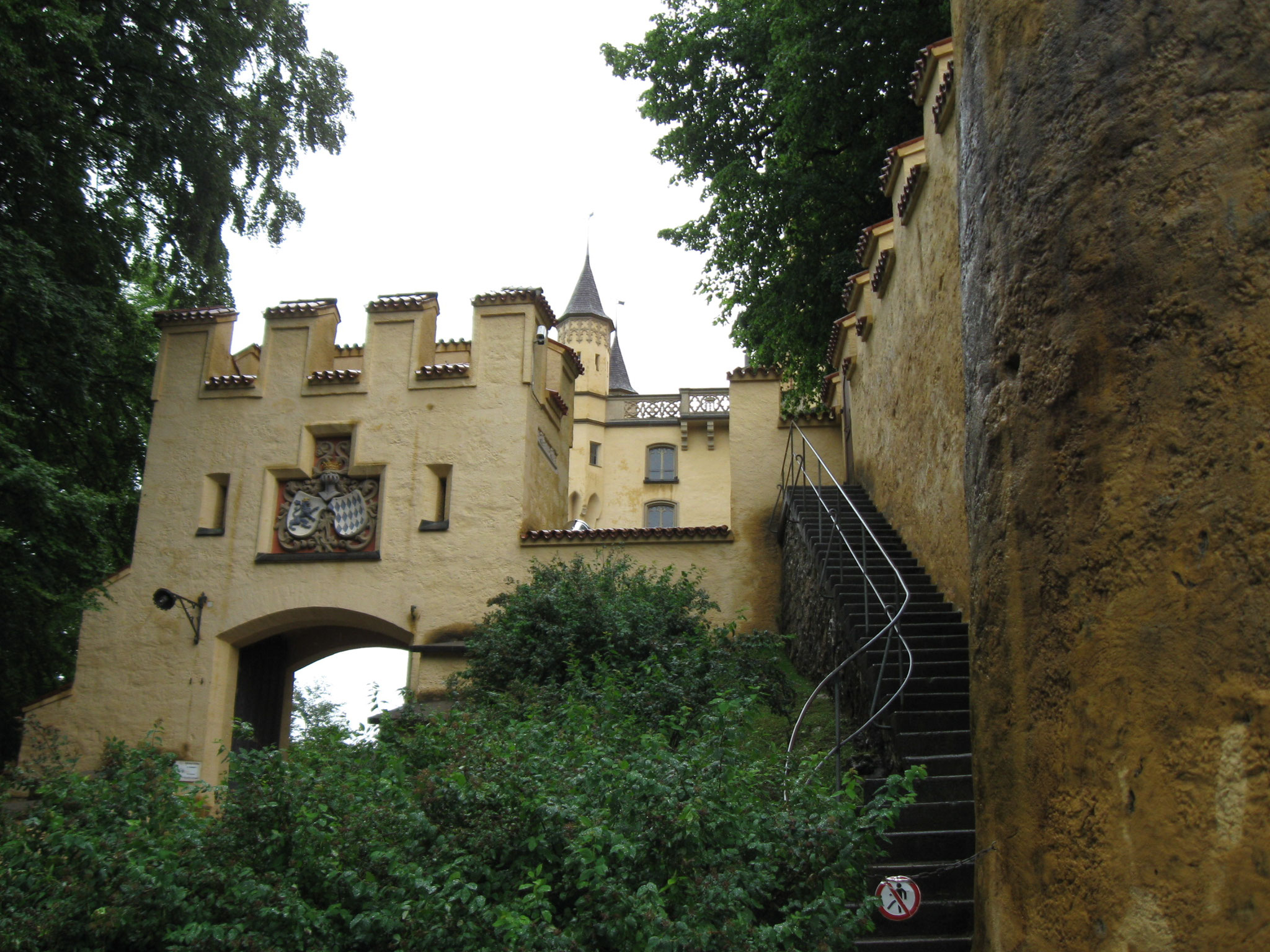 Eingang auf Hohenschwangau