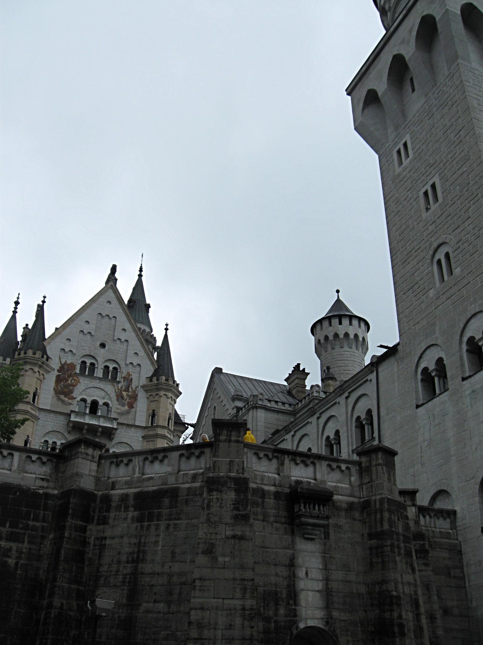 Eingang auf Hohenschwanstein