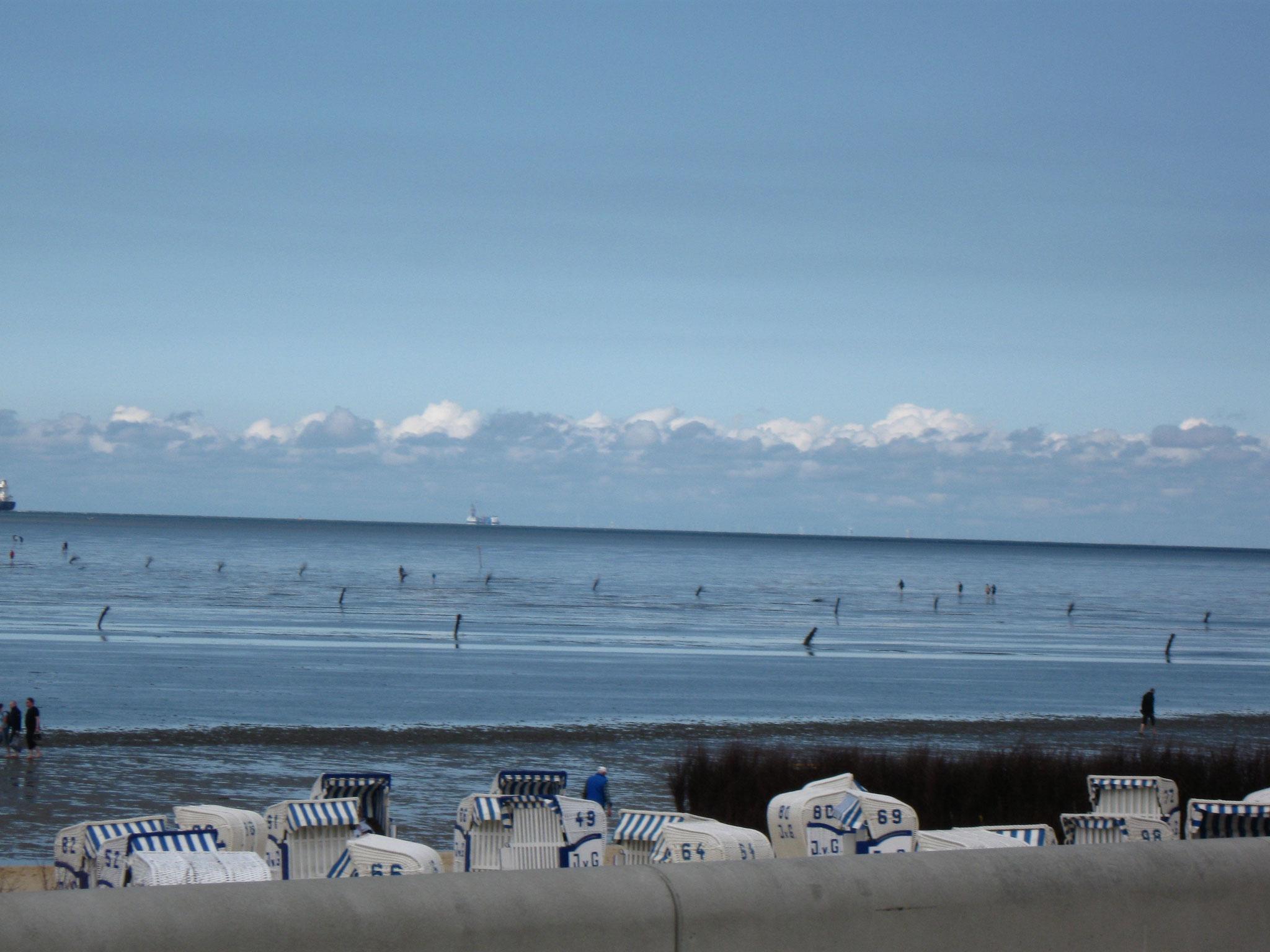 Strand von Duhnen