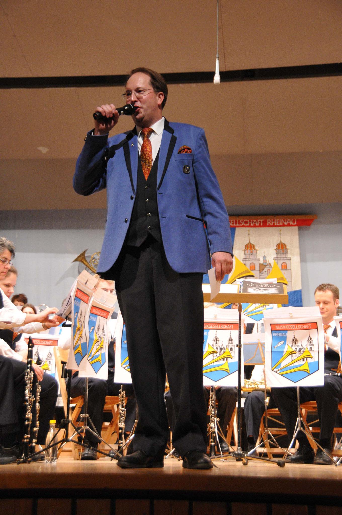 Präsident Stephan Aregger 2010