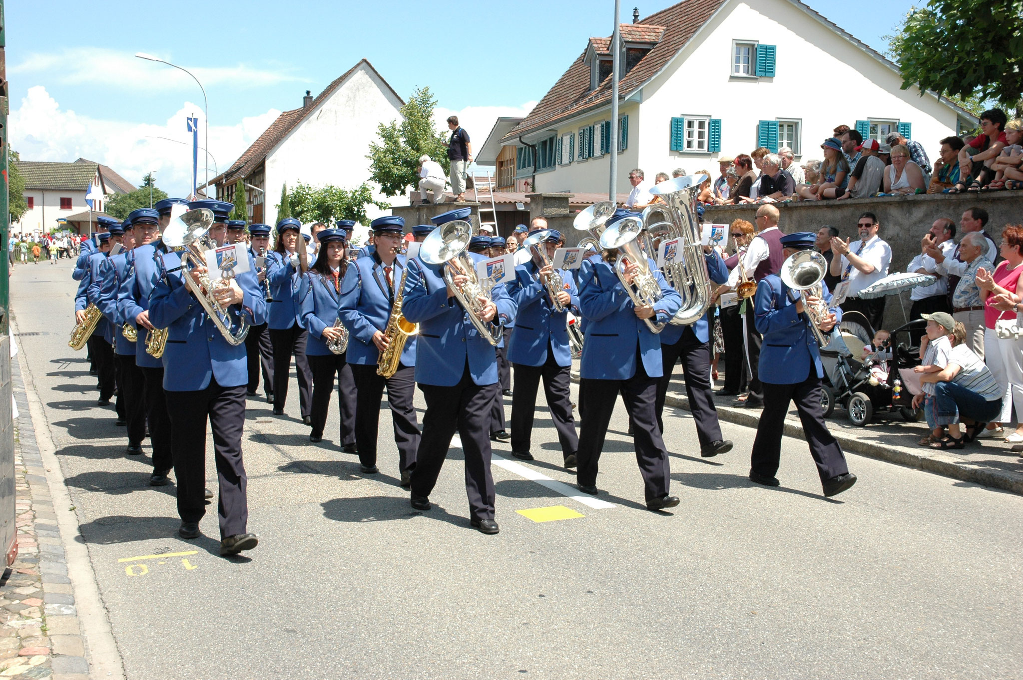 Weinländer Musiktag in Rheinau 2007