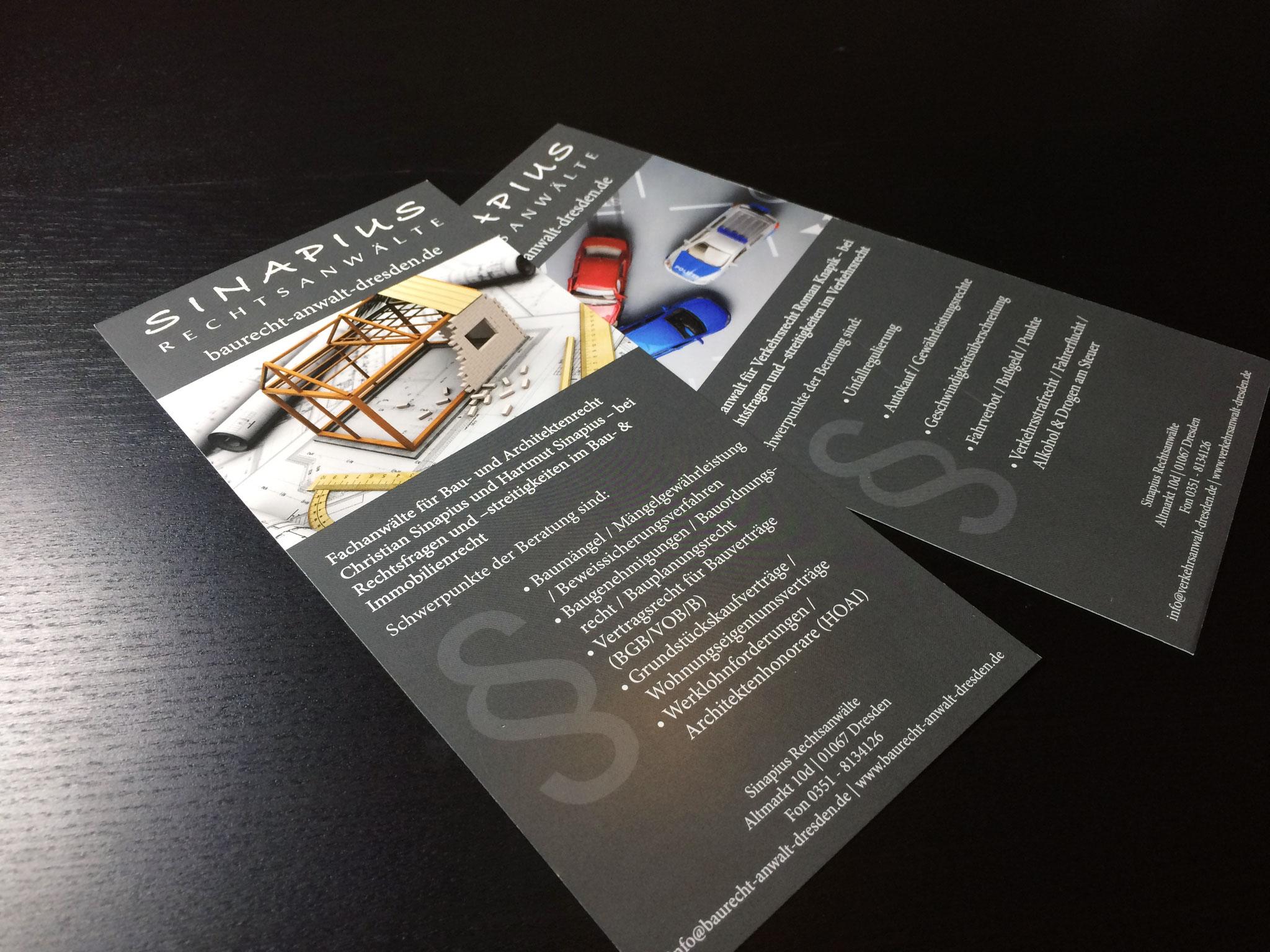 Gestaltung Flyer DINlang nach Corporate Design Richtlinien