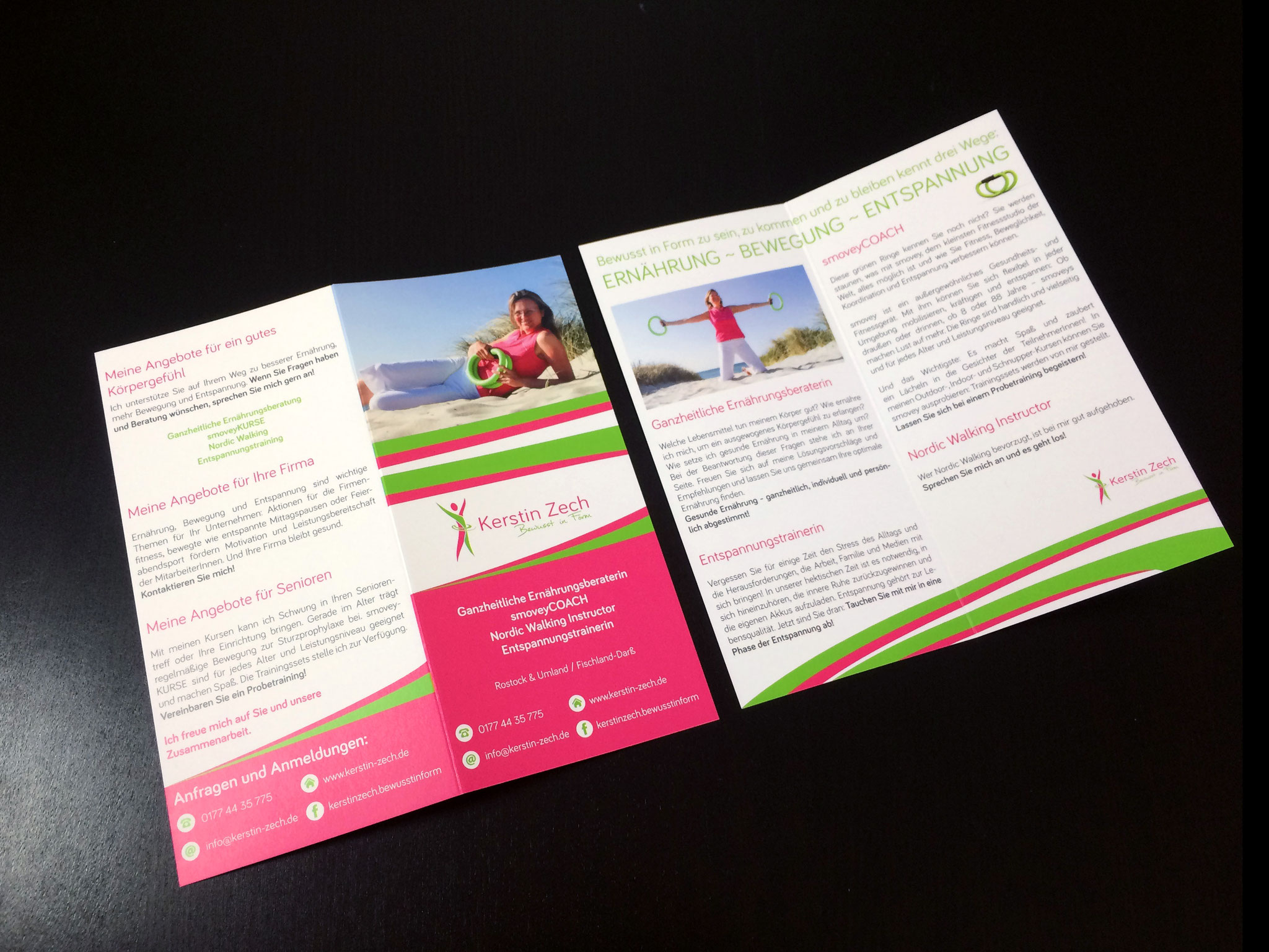 Gestaltung Flyer im Corporate Design