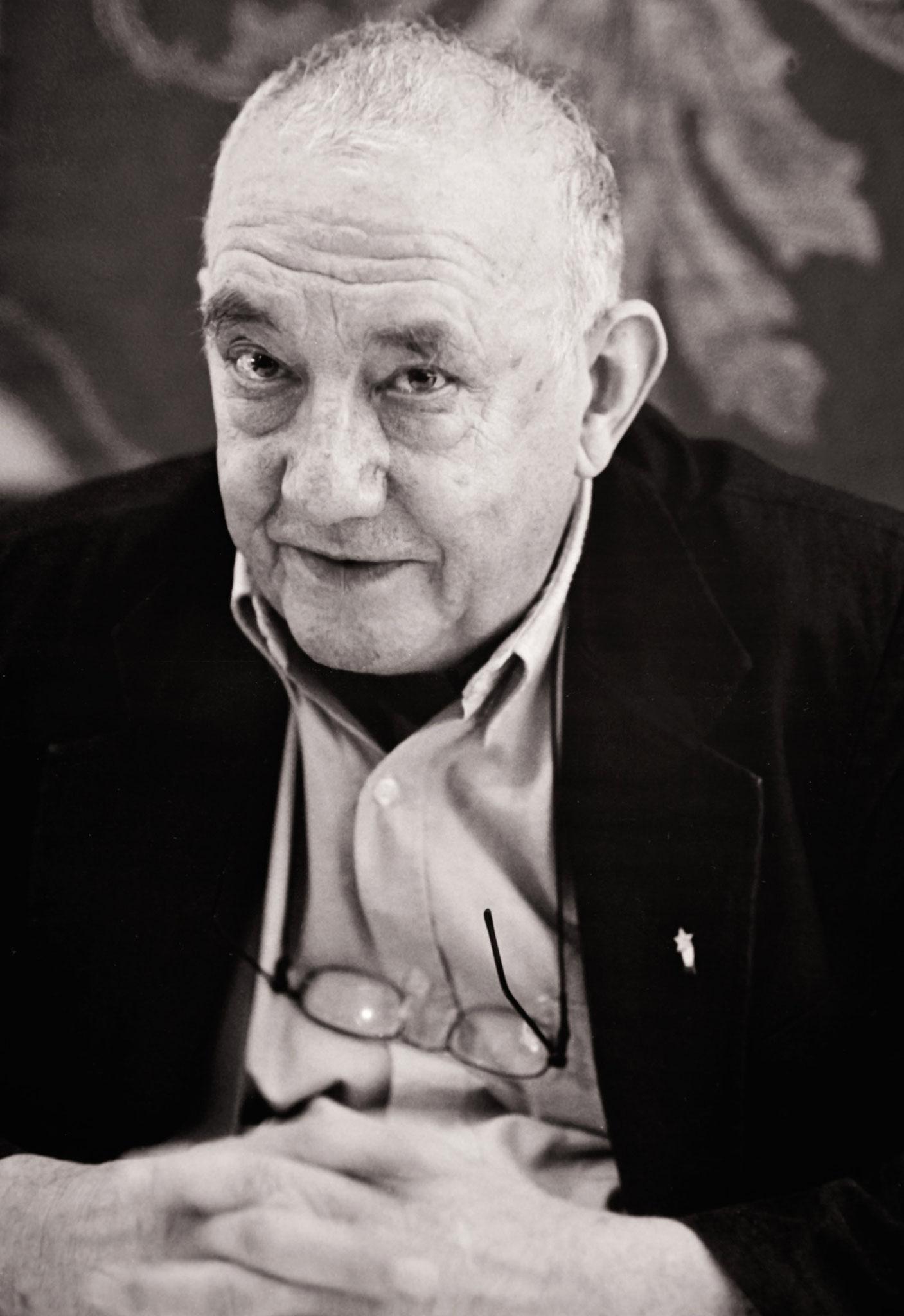 "Daniel Spoerri, Künstler ""Eat-Art"""