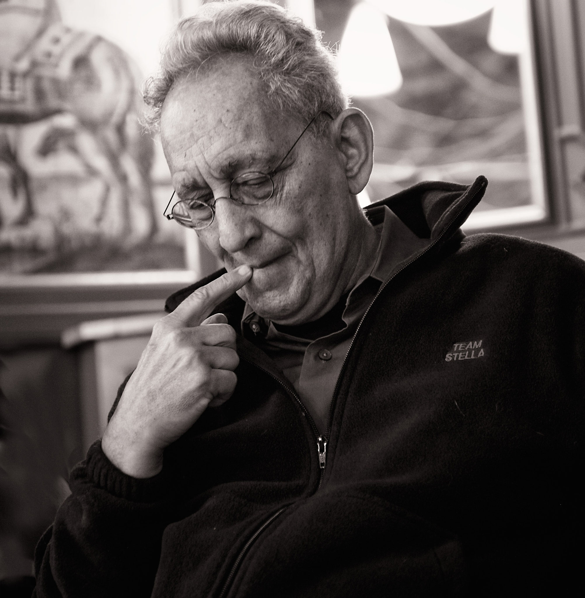 Frank Stella, Künstler, München