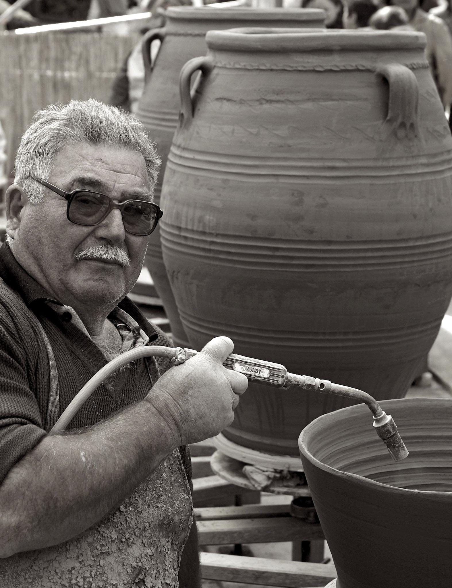 Niko, Keramiker, Kreta