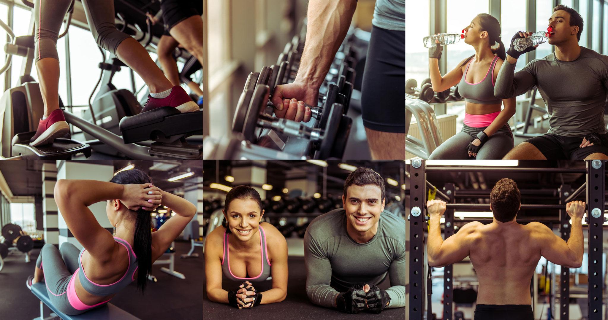 Lebe Fitnesstraining um