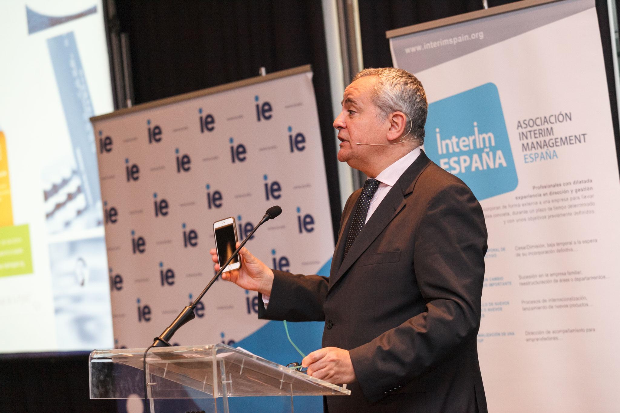 Presentación del evento por parte Juanma Romero (Presentador de TVE)