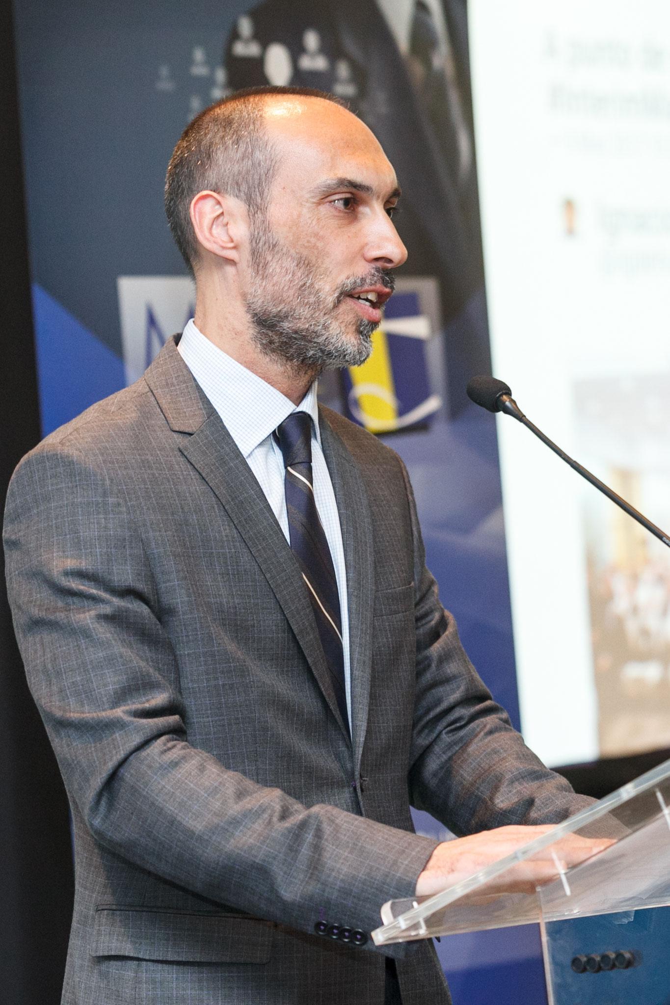 Apertura del I Congreso Nacional de Interim Management por parte de Pío Iglesias (presidente de AIME)