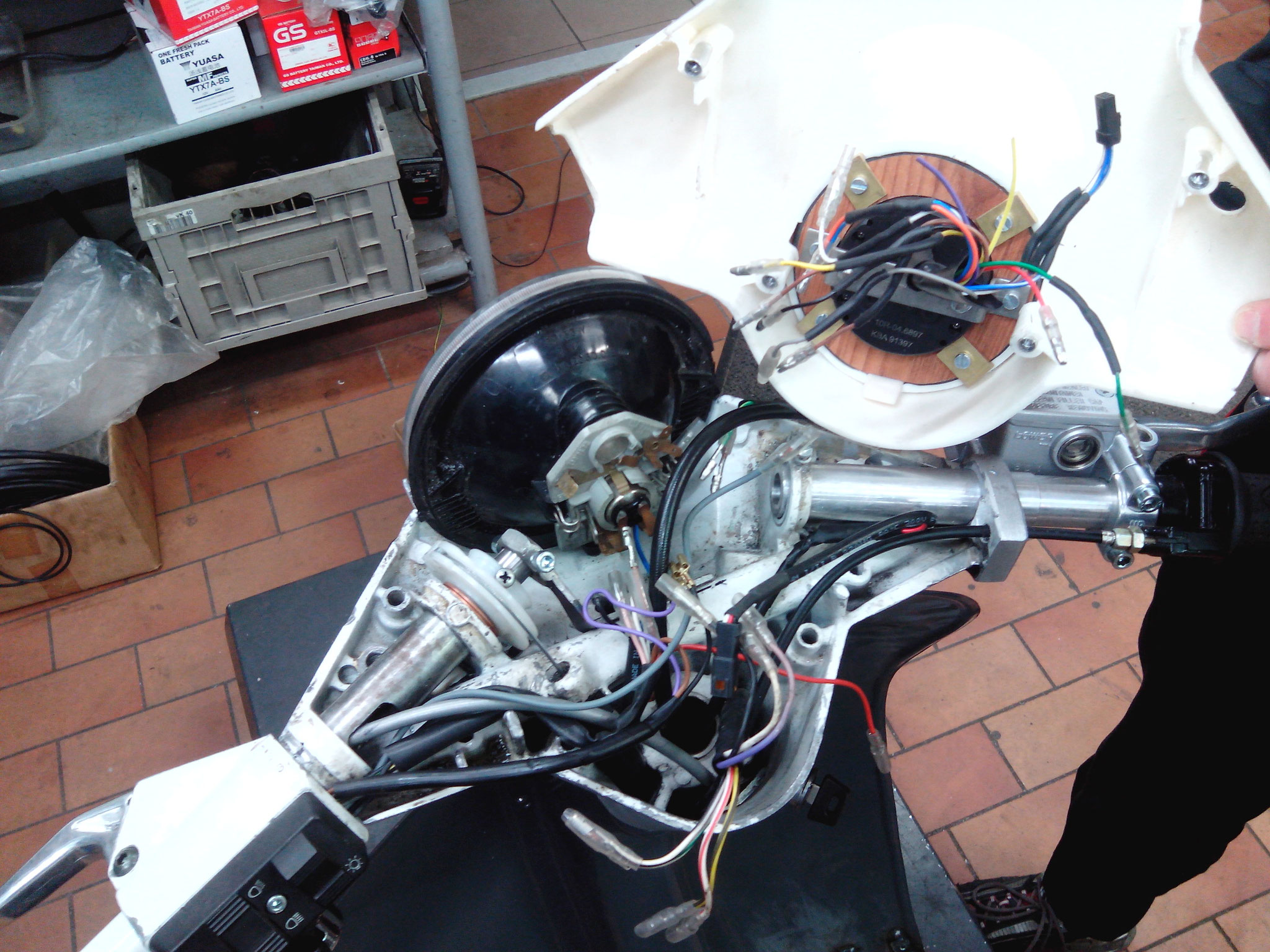 Installation Fahrzeugelektrik