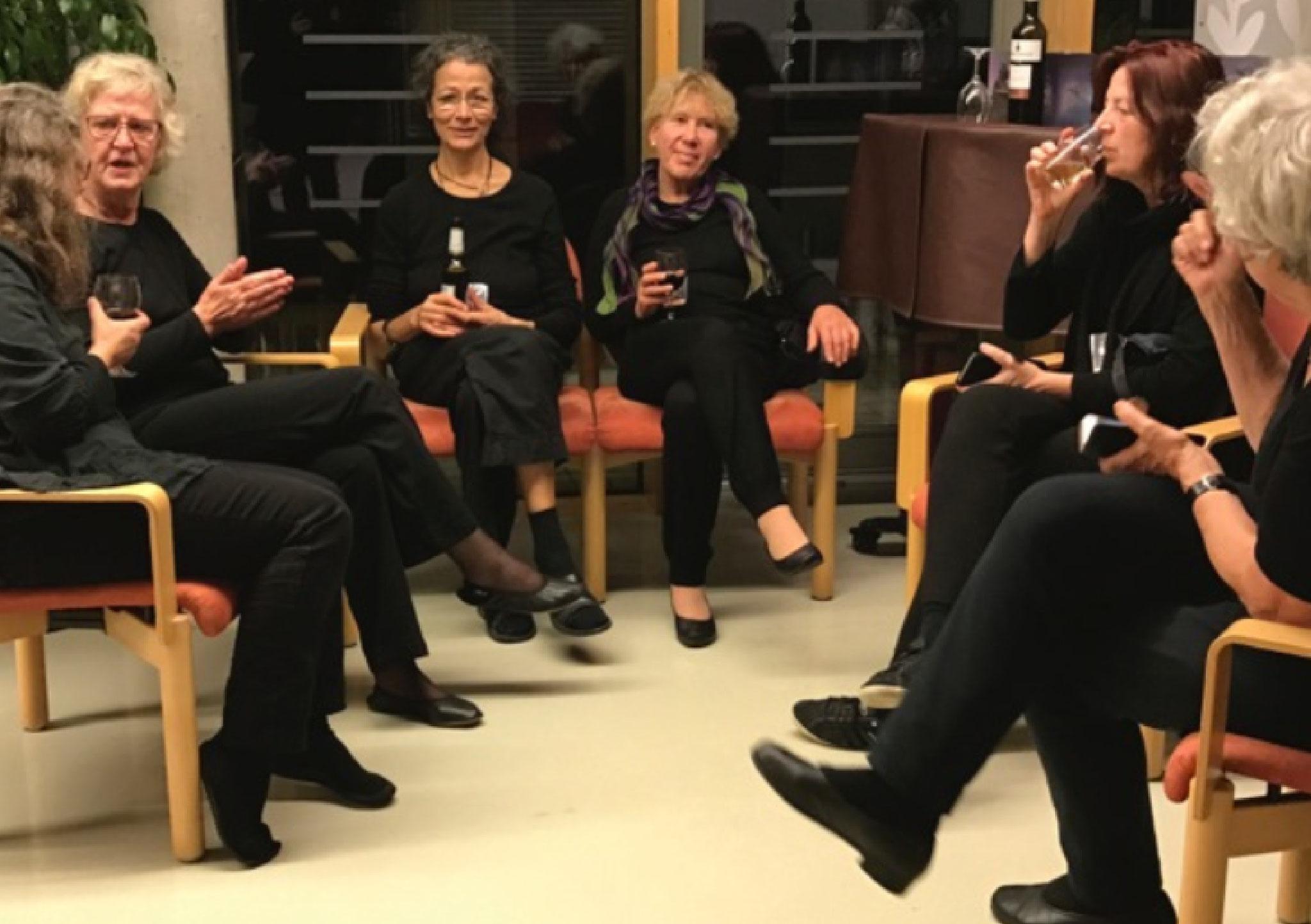 Monika Steffen (verdeckt) Elisabeth Kirberg, Catherine Cunz, Erdmute Krüger, Kerstin Horn...