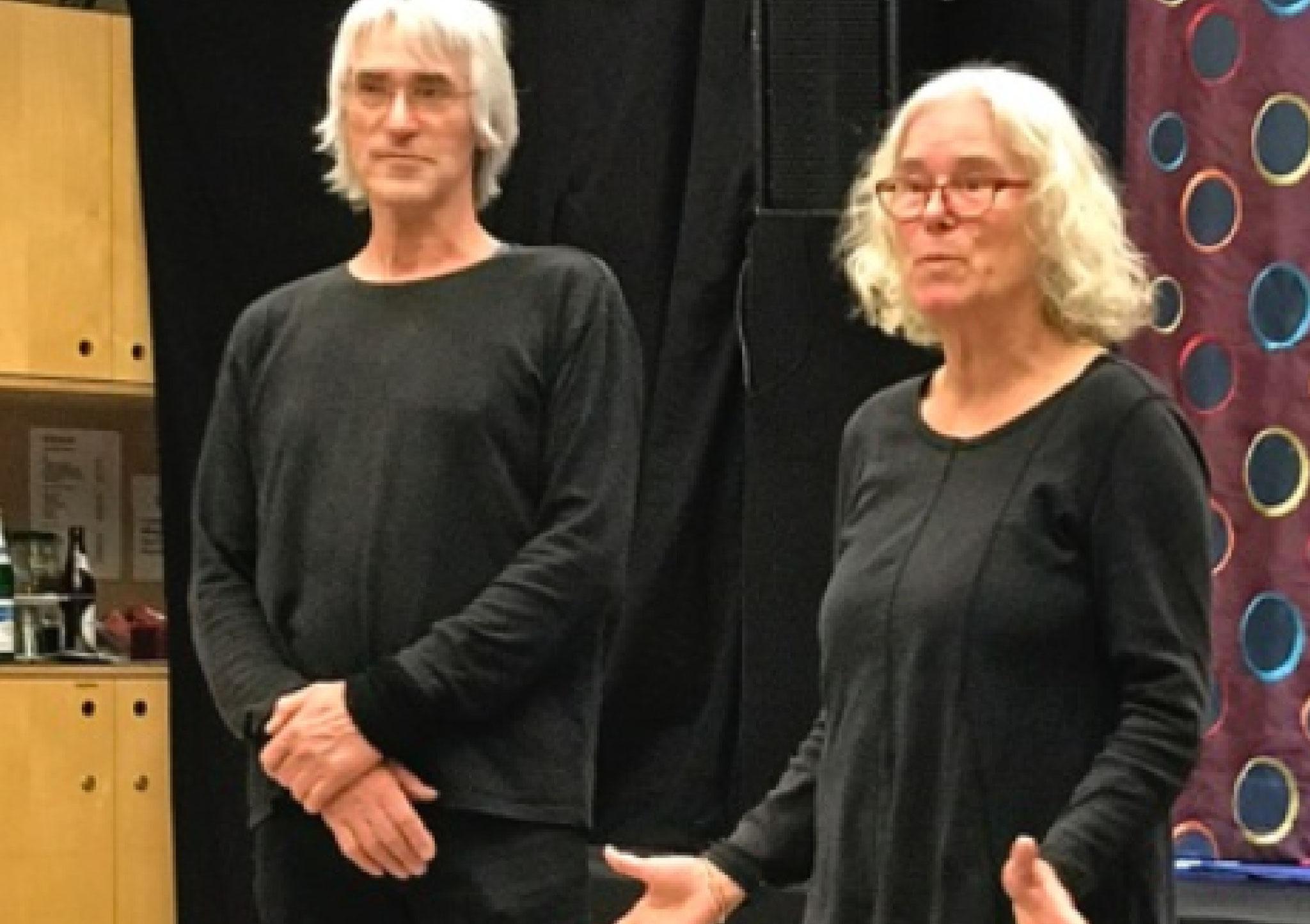 Detlef Schmelz und Marlene Gmelin...