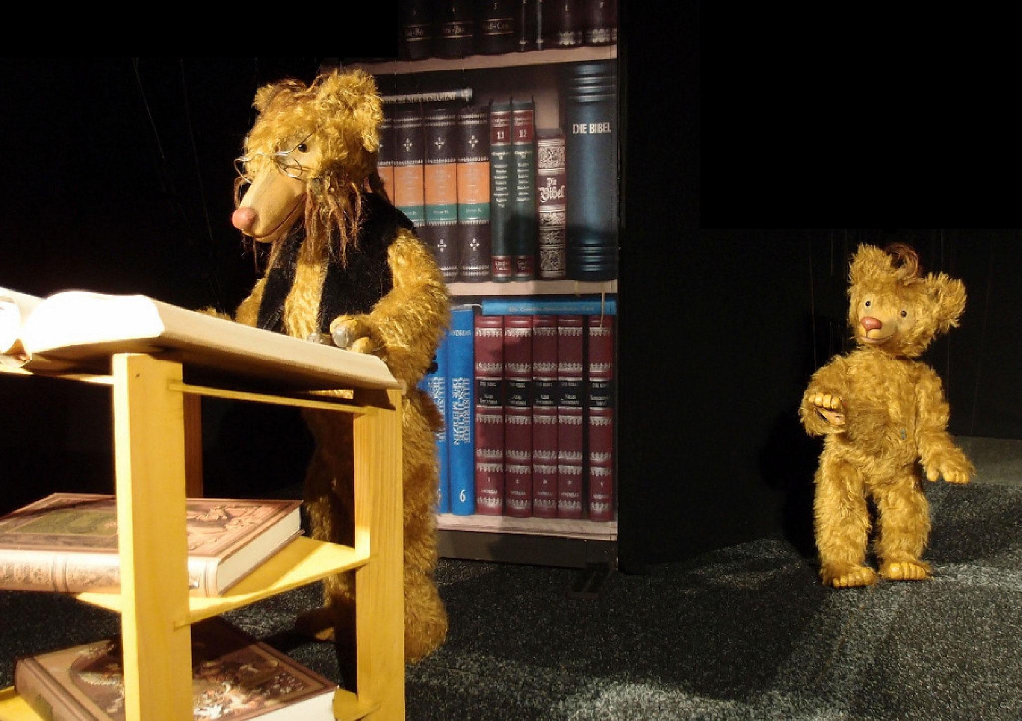 """Der """"Bärenfaust"""" am PendelMarionettenFestival 2014."""