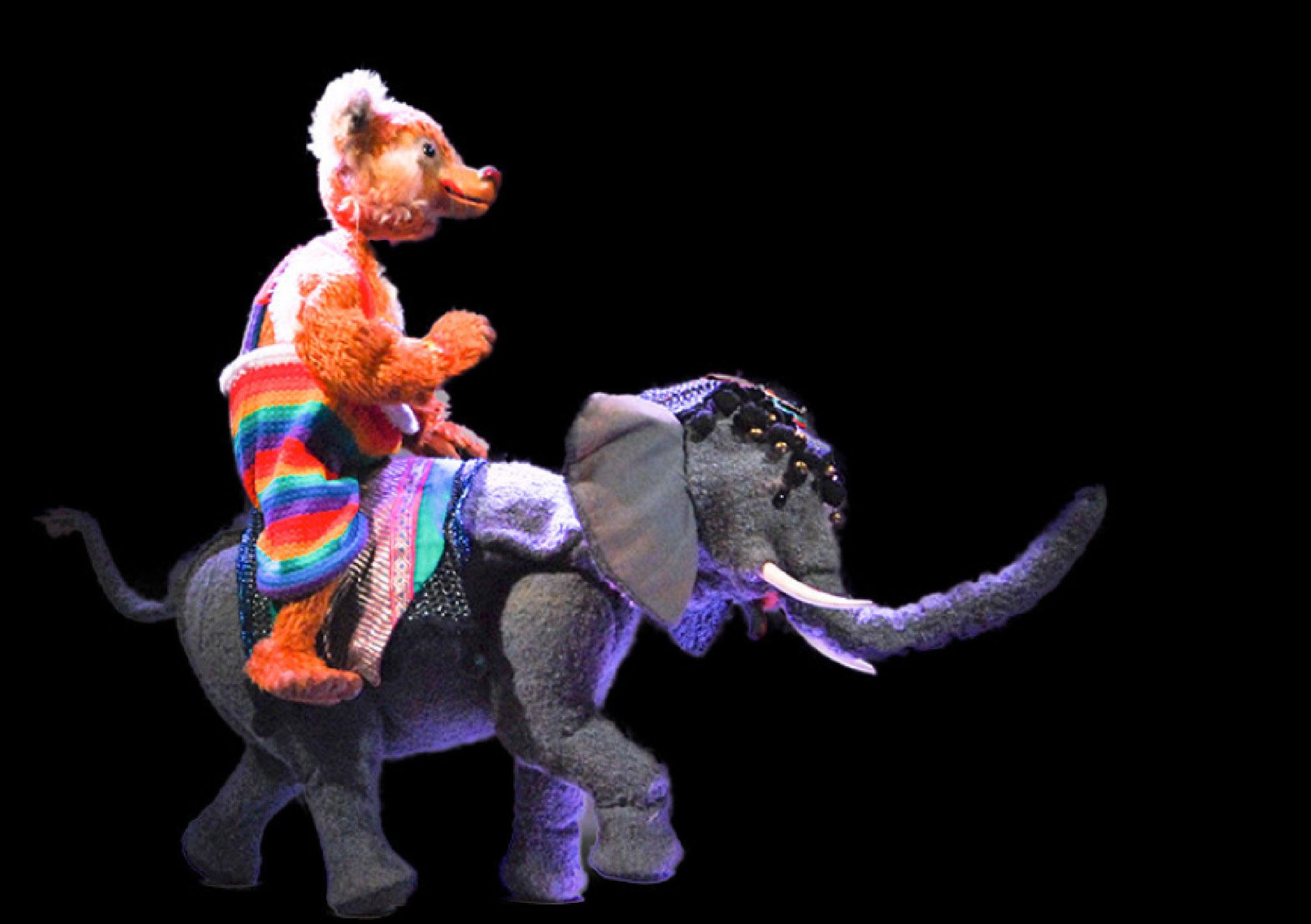 Der Elefant tanzt Walzer,...