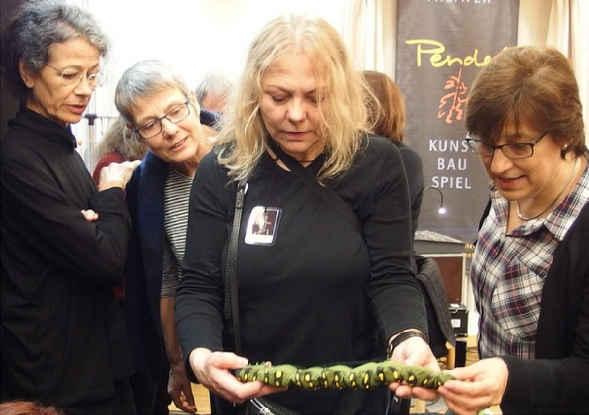 Catherine Cunz, Susanna Heller, Petra Kleefeld und Ingrid Jacobsen...