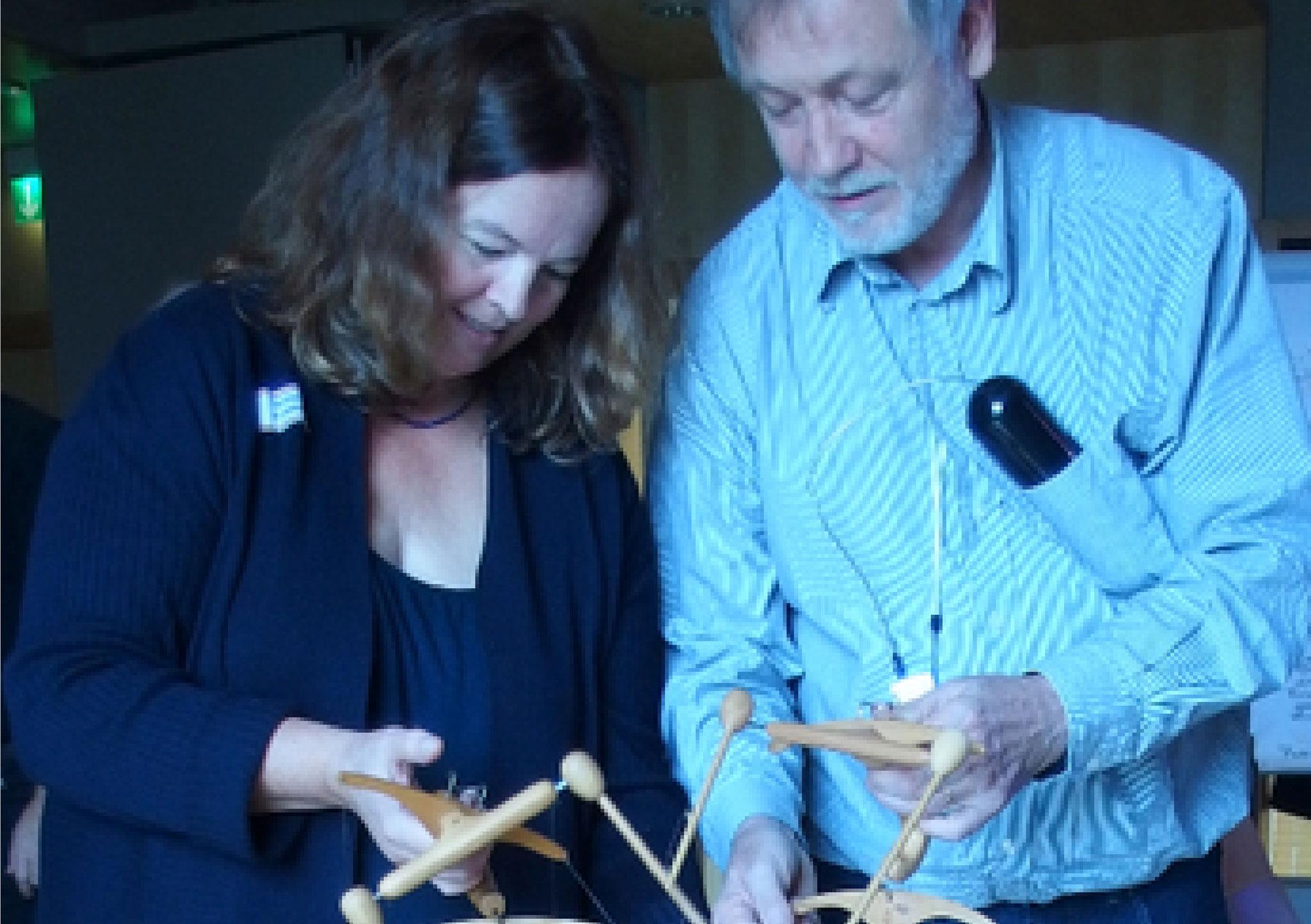 Annemarie Kunze und Jens Steffen...