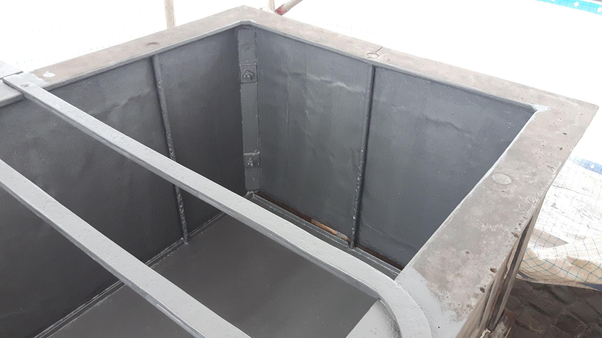 Brunnen-Sanierung vorher