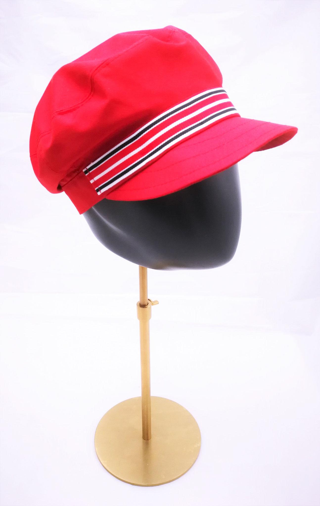 Schirmcap, für sie und ihn, UV Stoff, rot, Manufakturarbeit, bestellbar Preis 64,90 €