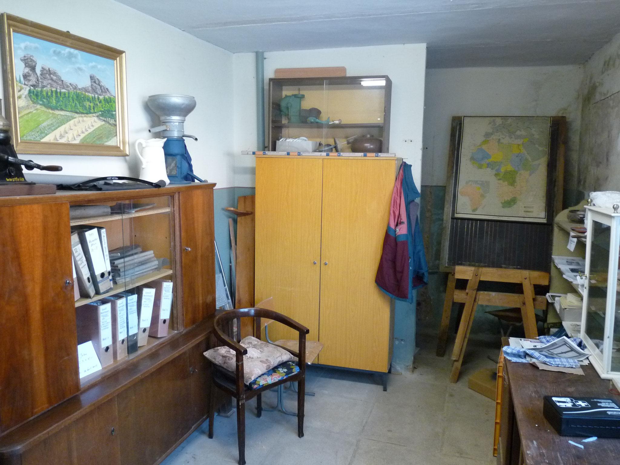 """Das """"Büro"""" vor dem Umbau"""