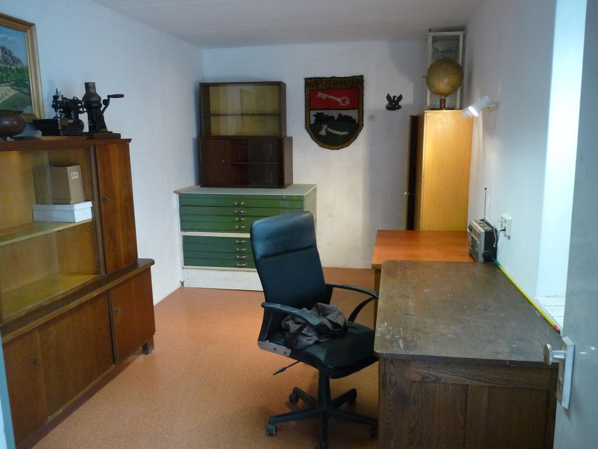 """Das """"Büro"""" nach  dem Umbau"""