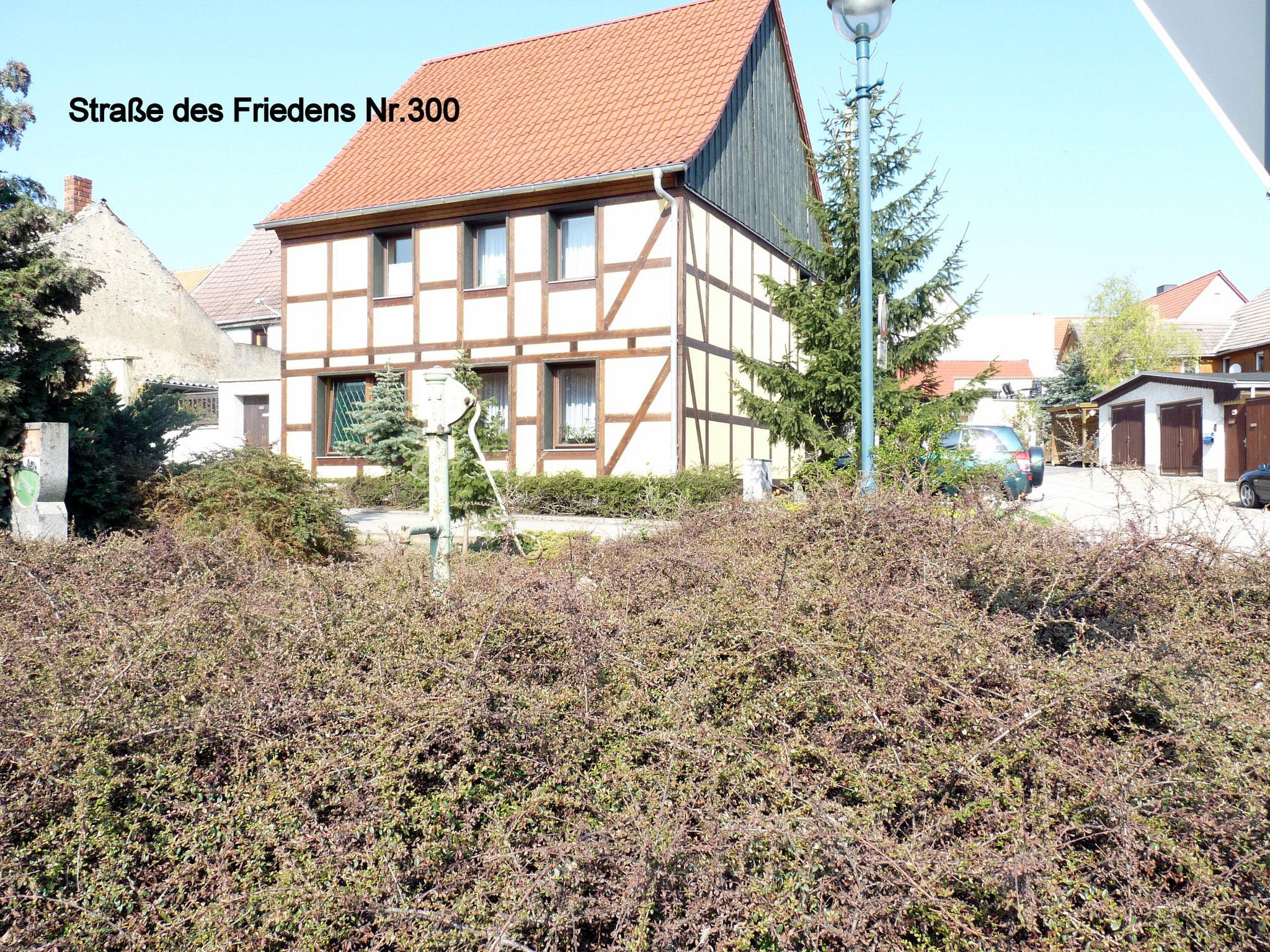 Str. d. Friedens/ Thieberg 300