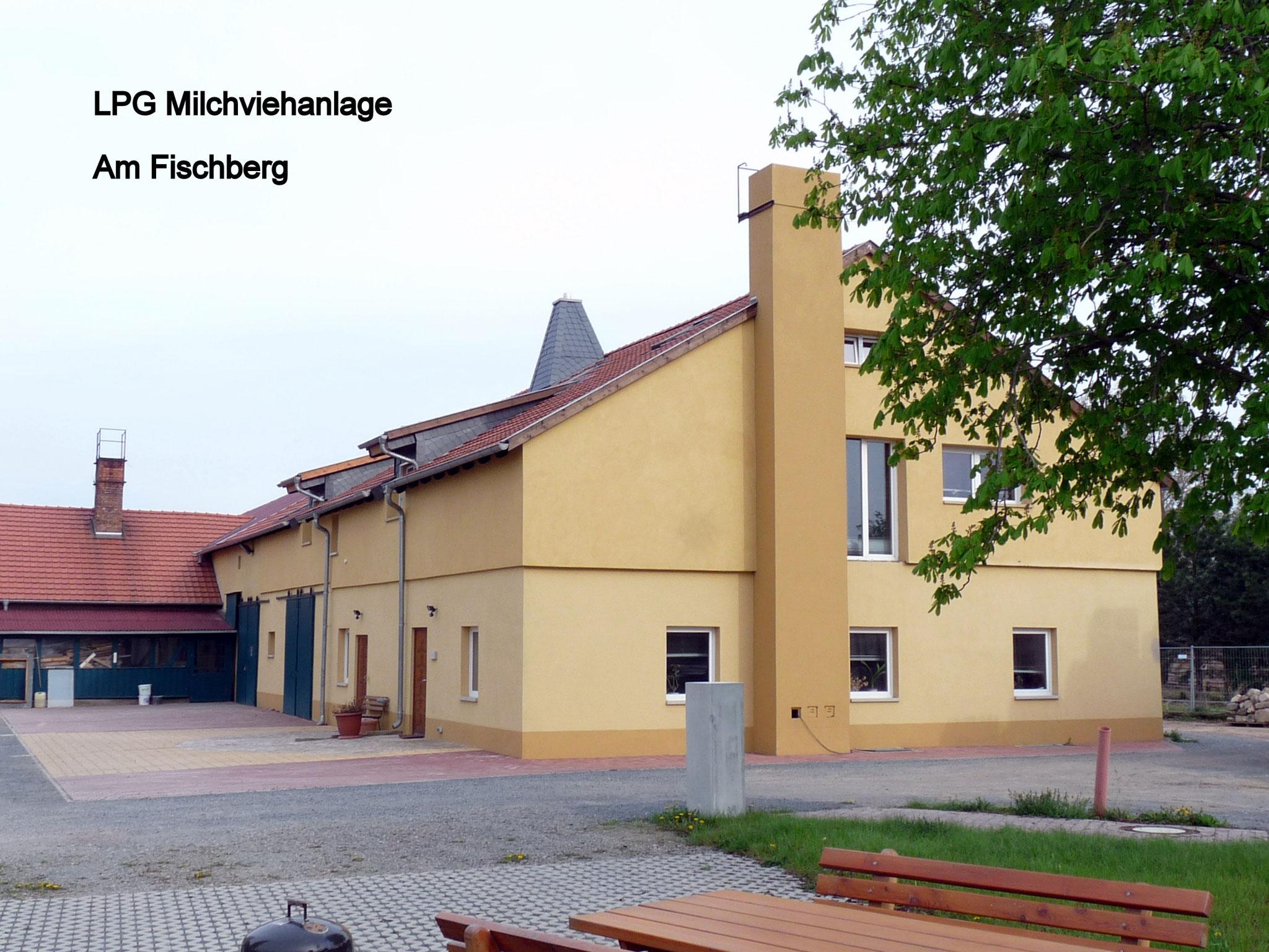 LPG-Küche Fischberg,  Milchviehanlage