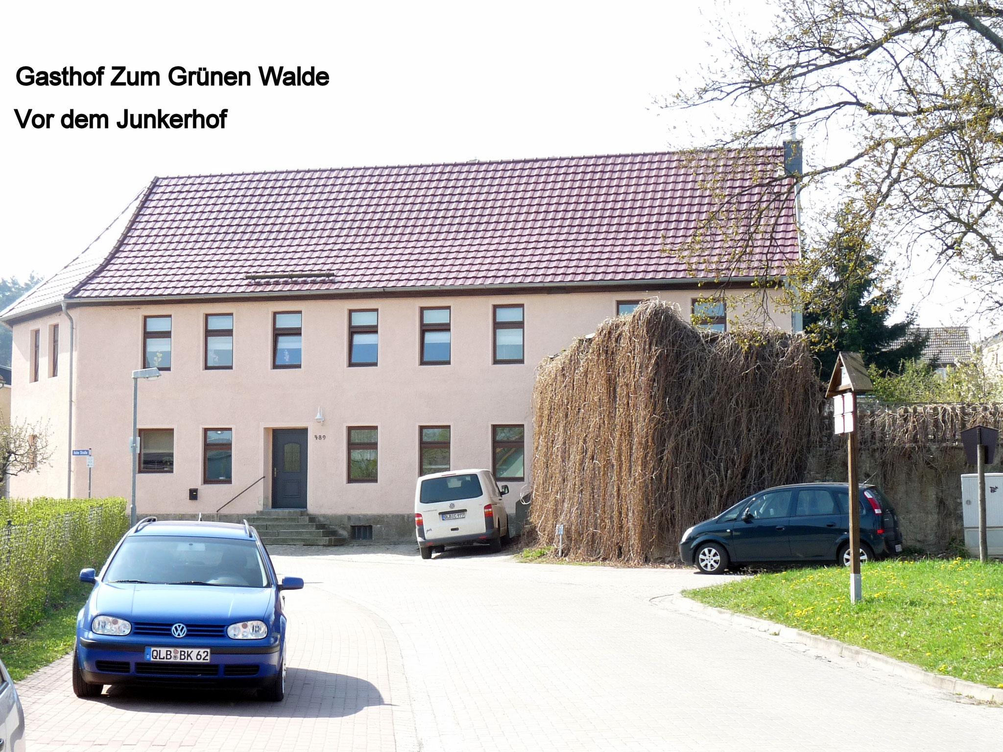 """Gatshof """"Zum Grünen Walde"""""""