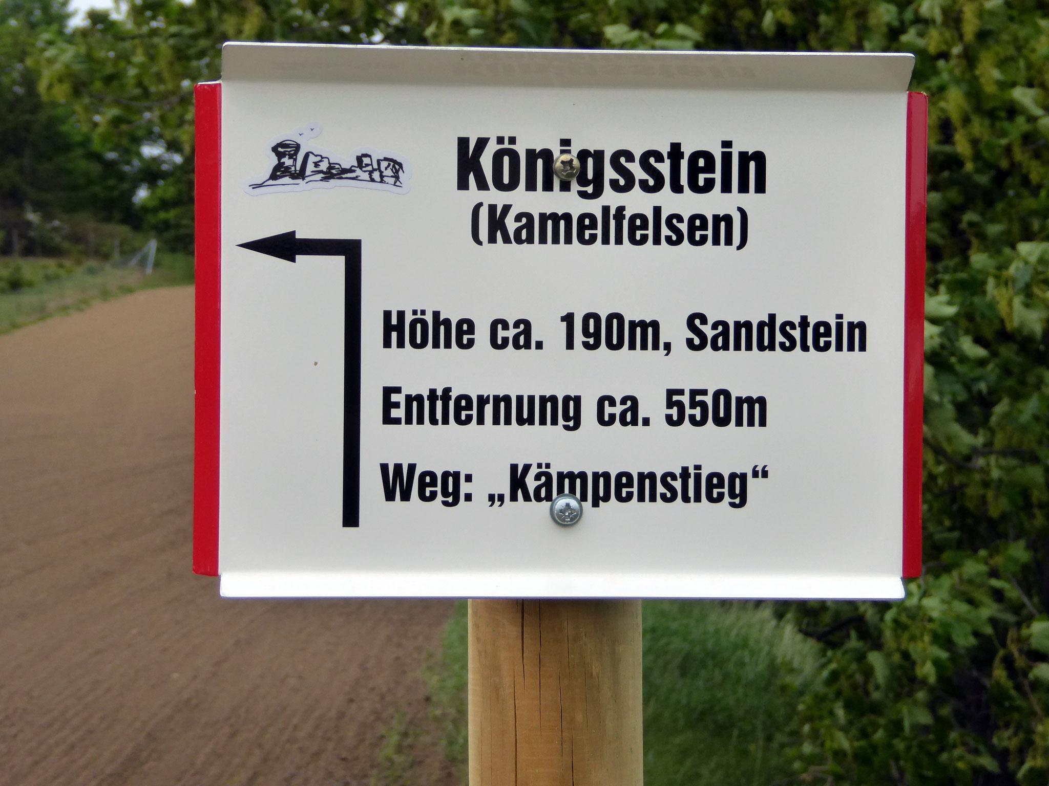 """Das Schild  am historschen """"Kämpenstieg"""", der hoffentlich bis z. Herbst wieder da ist!"""