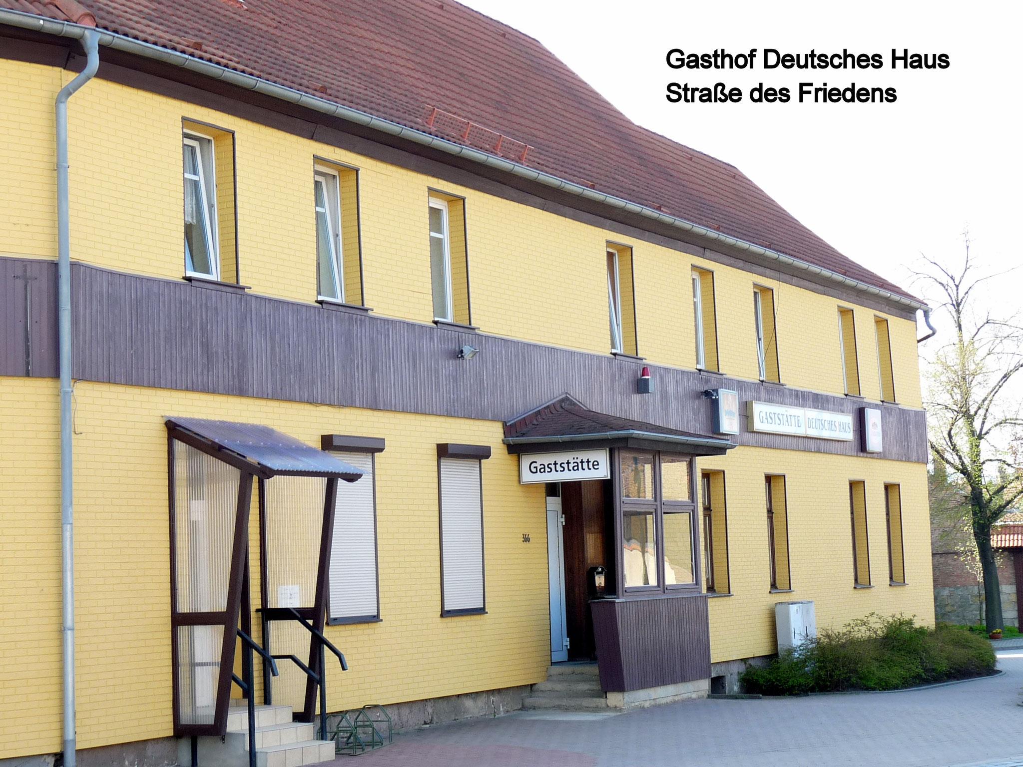 """Gasthof """"Deutsches Haus"""""""