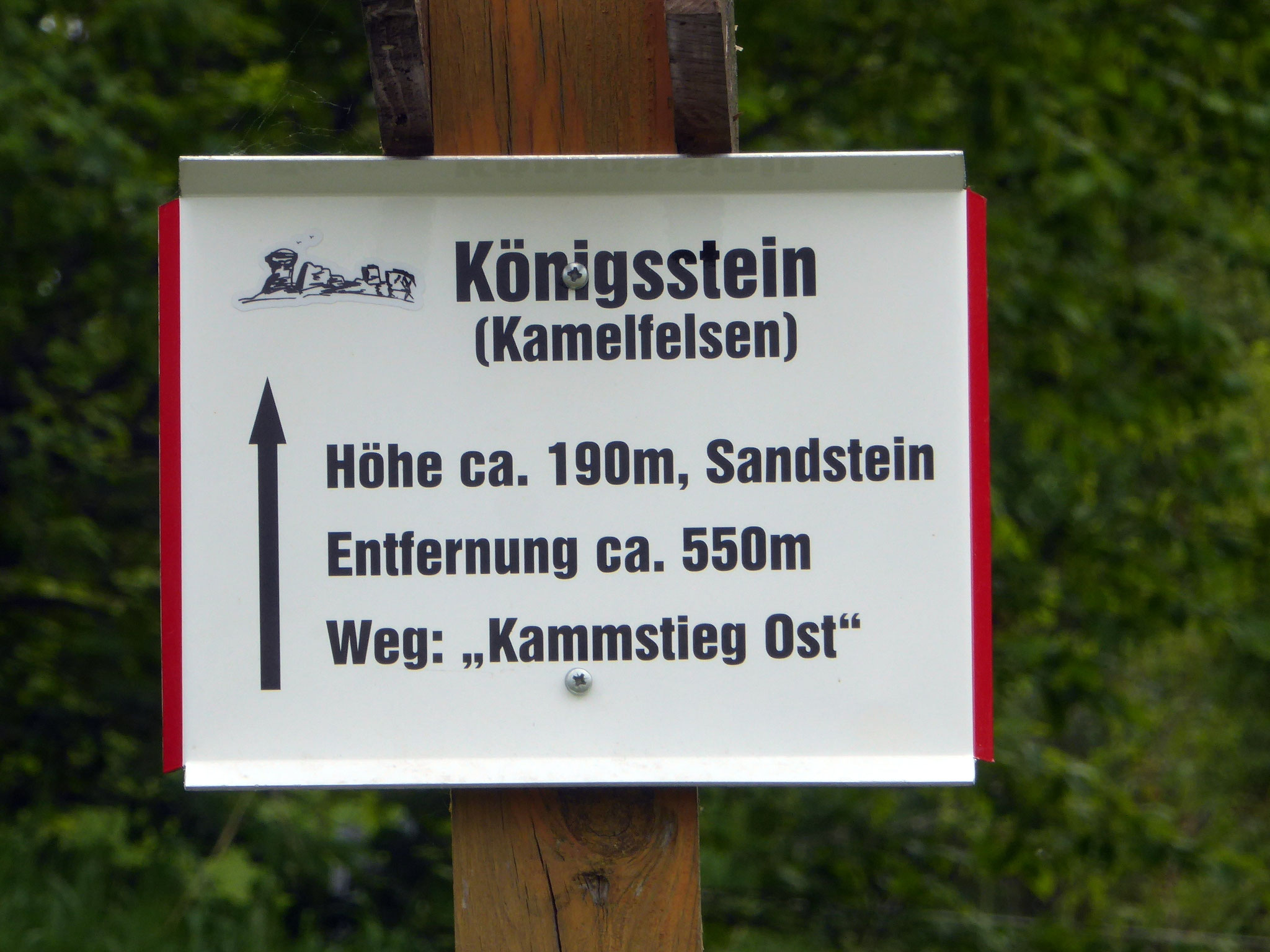 Das Schild befindet sich an der Halberstädter Straße