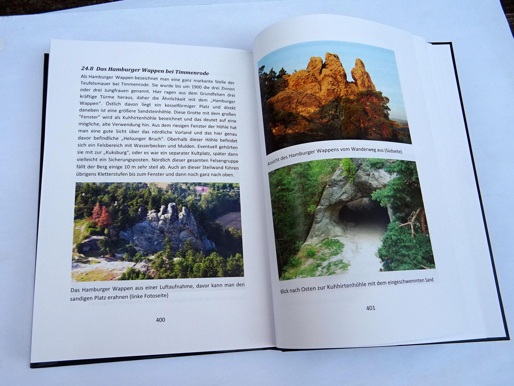 über 400 Fotos in Farbe sind mit eingefügt.