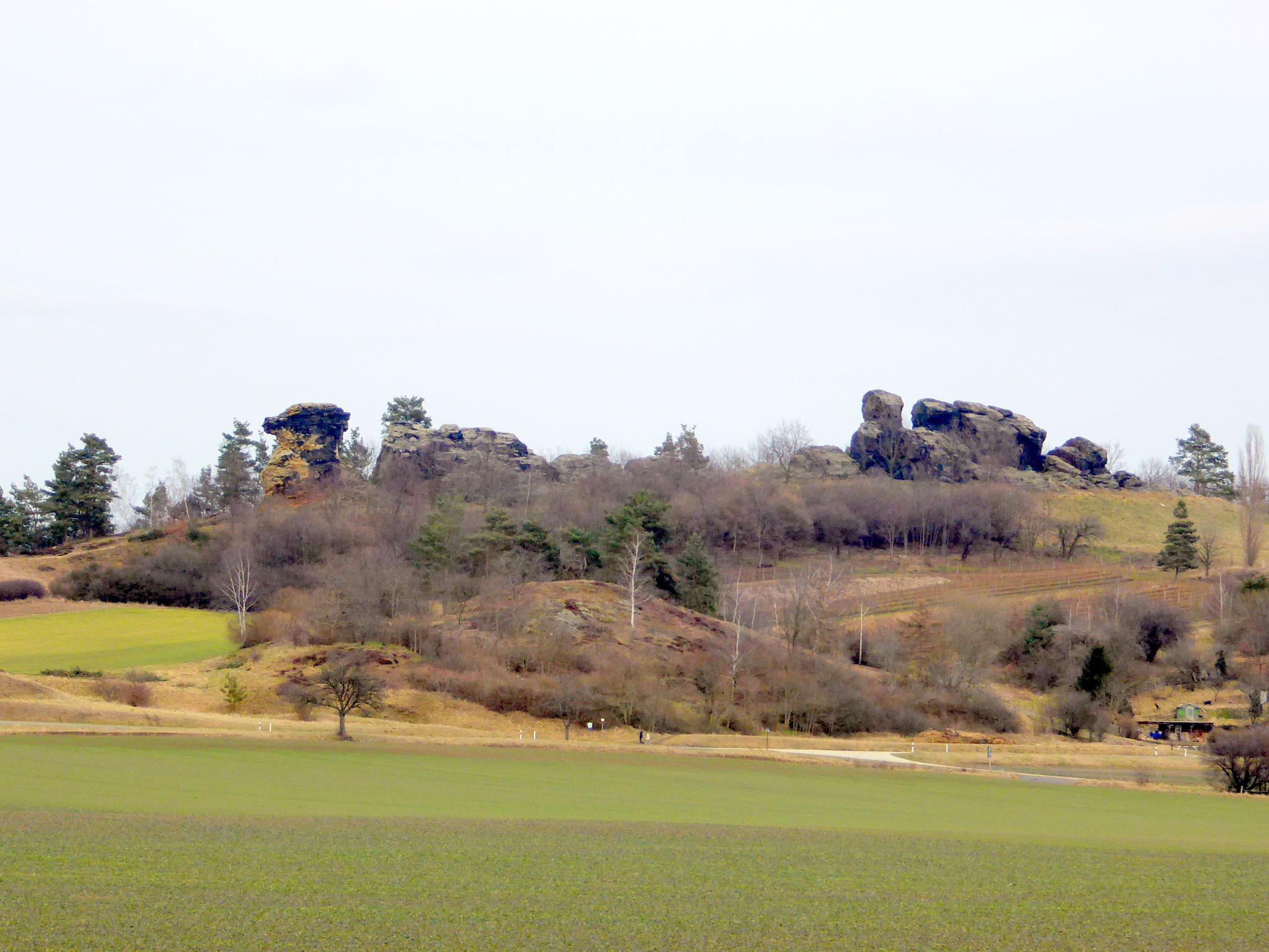 Der Königstein bei Westerhausen
