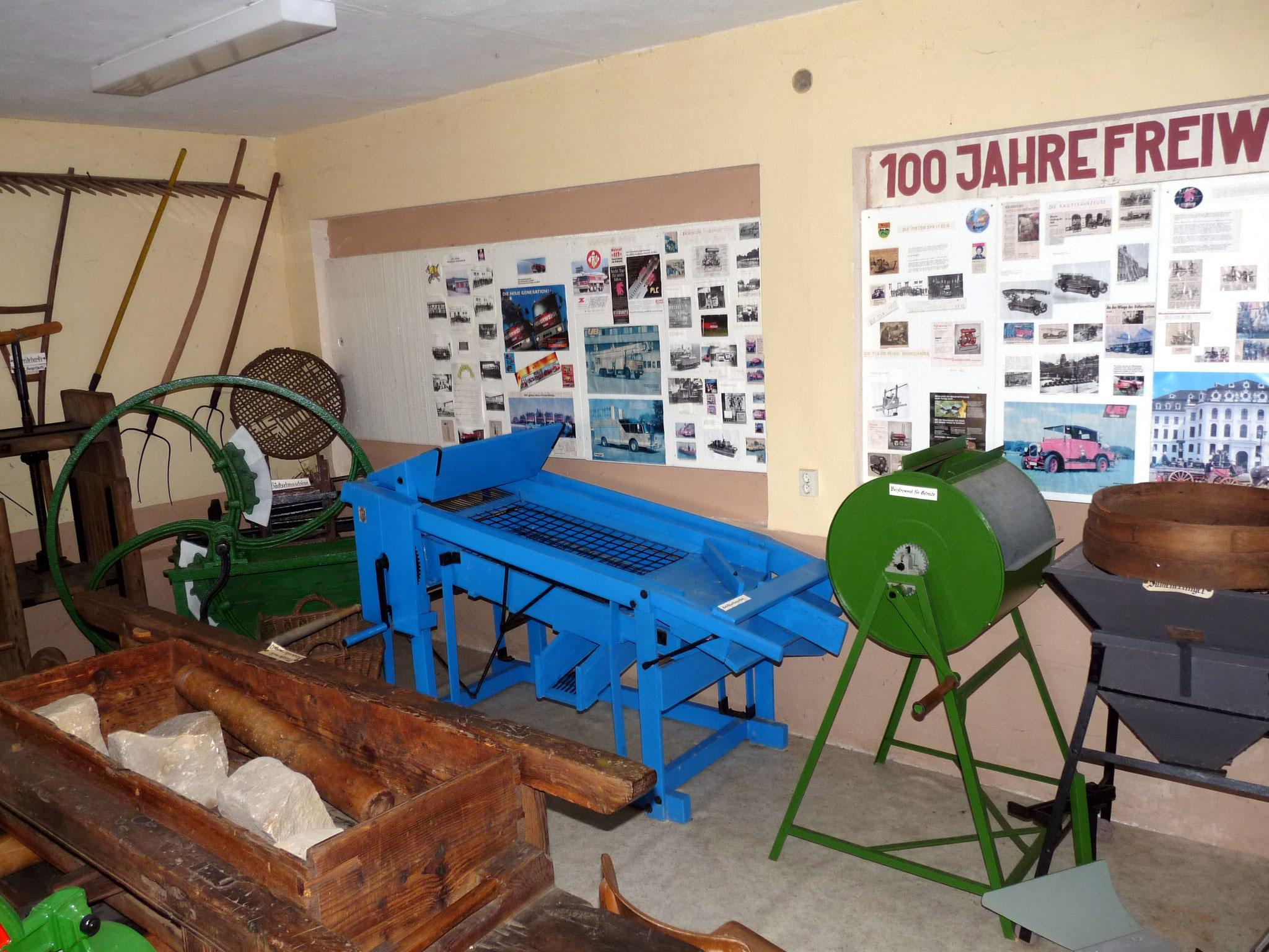 landwirtschaftliche Kleinmaschinen 1