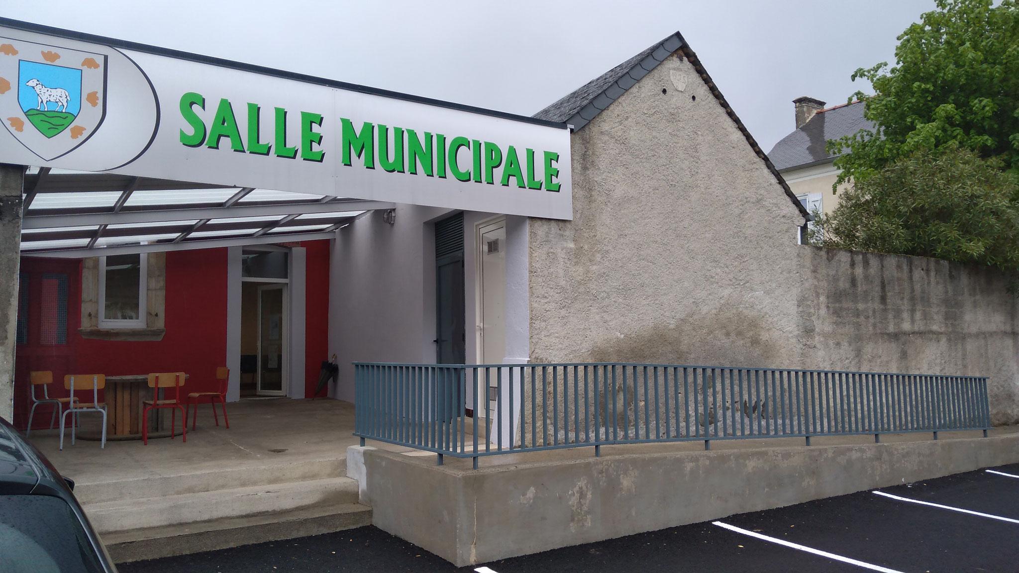la salle municipale