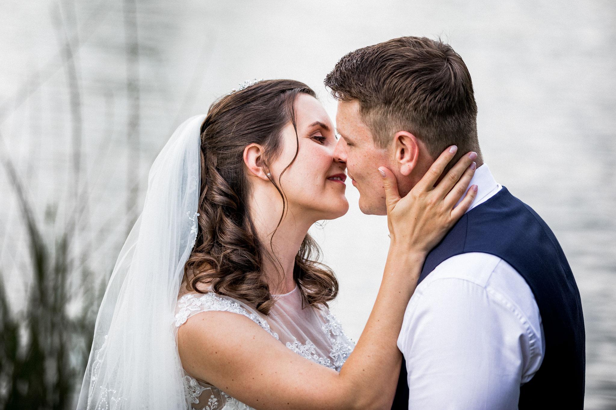 liebevoller Kuss