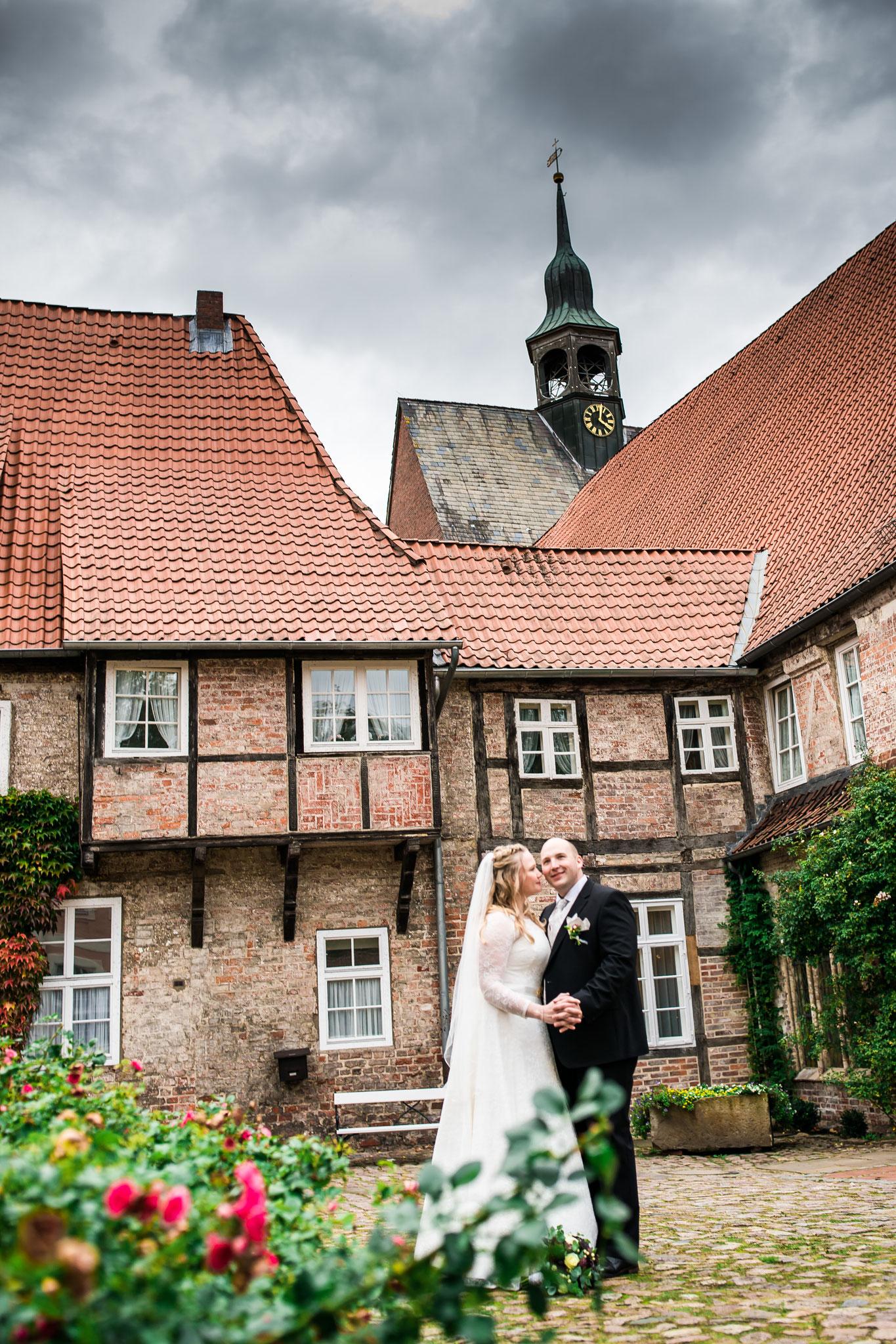 Prautpaar im Kloster Lüne