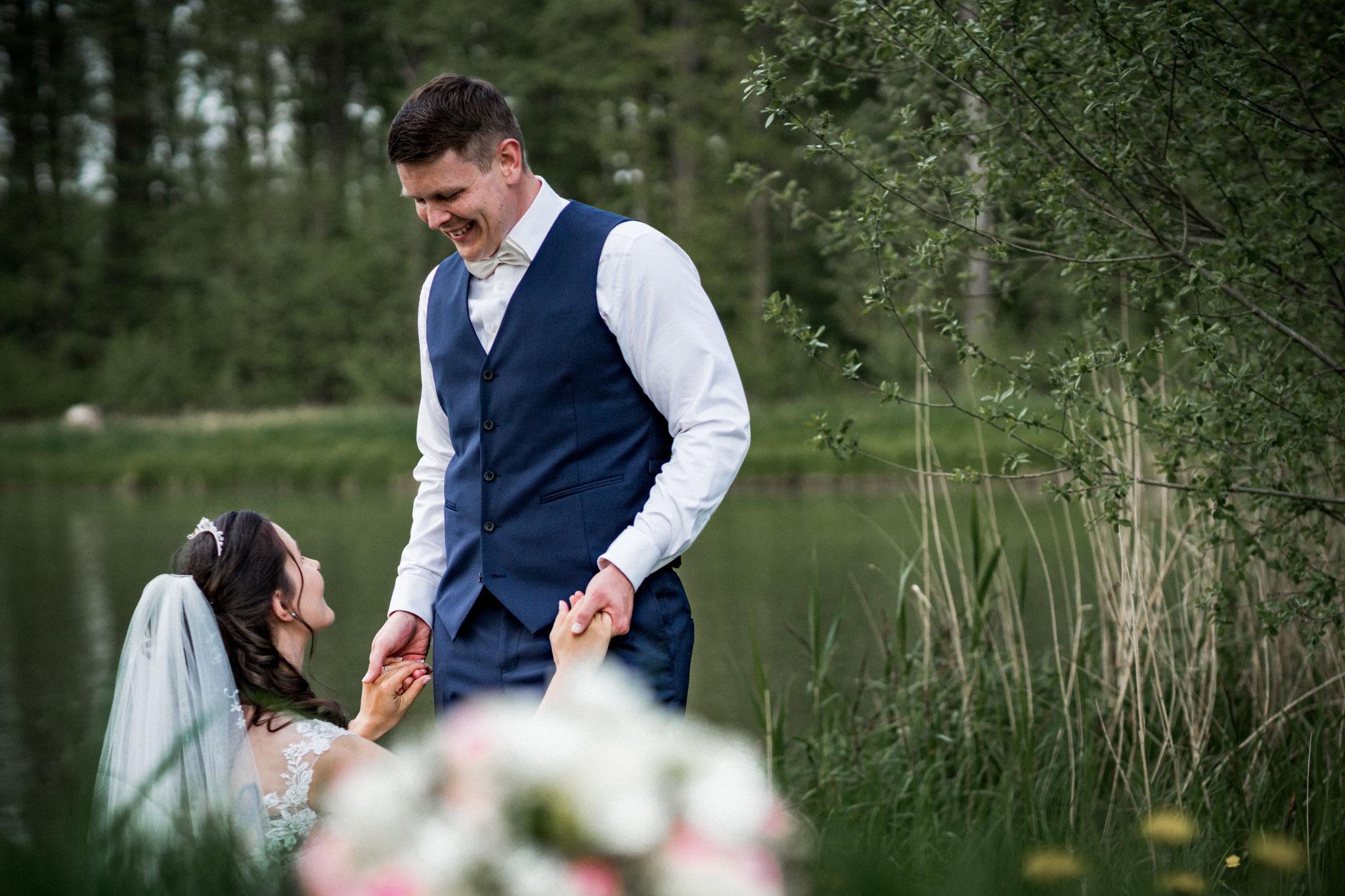 Brautpaarshooting Hochzeitsfotograf Marschacht