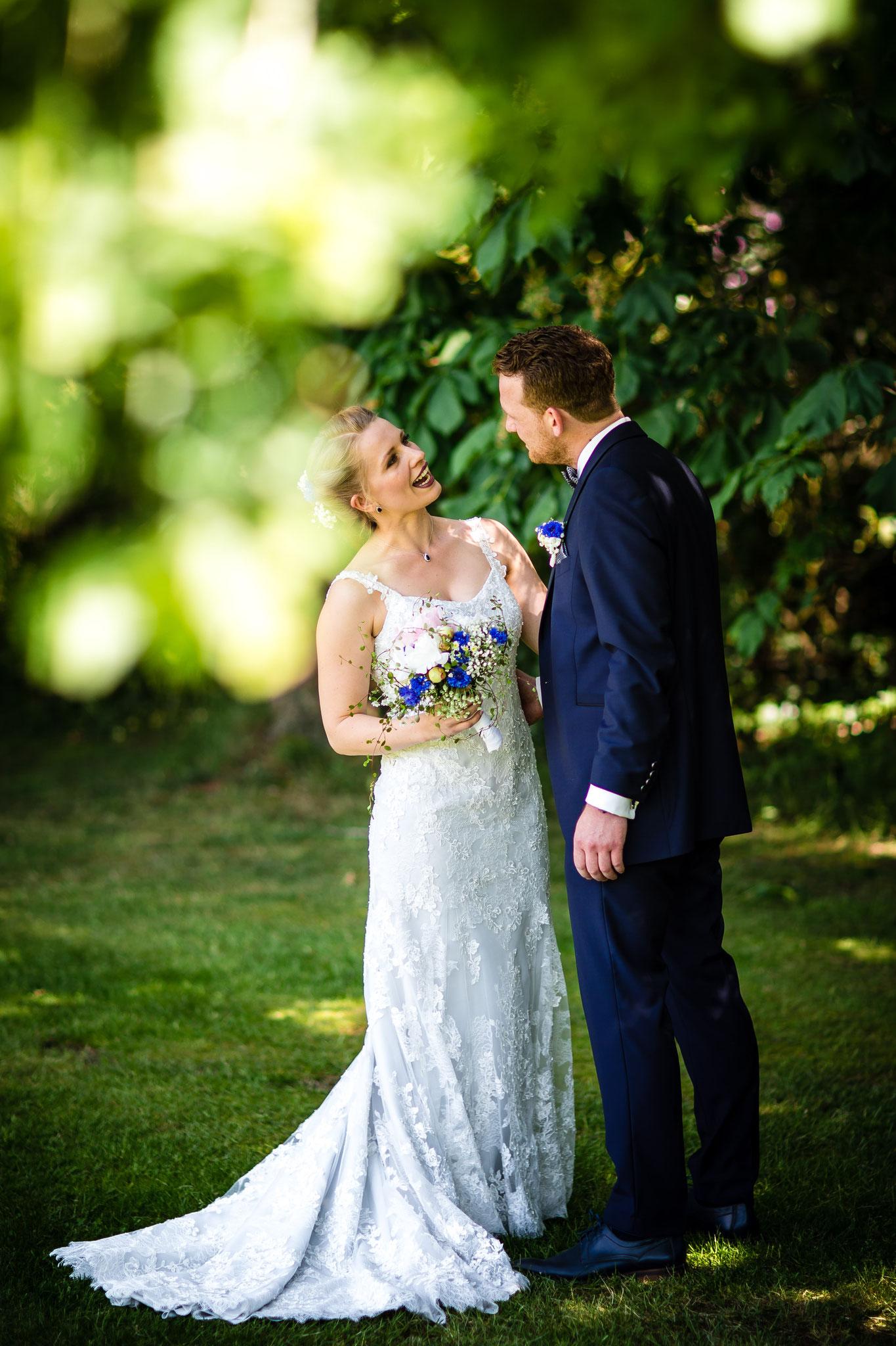 Brautpaar beim First Look
