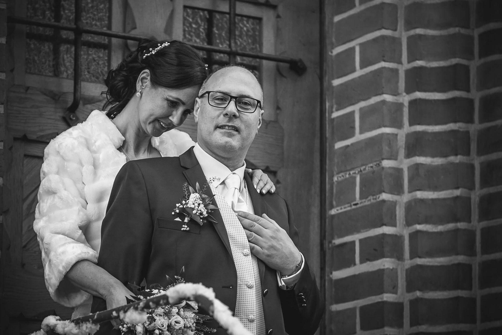 Braut & Bräutigam beim Shooting