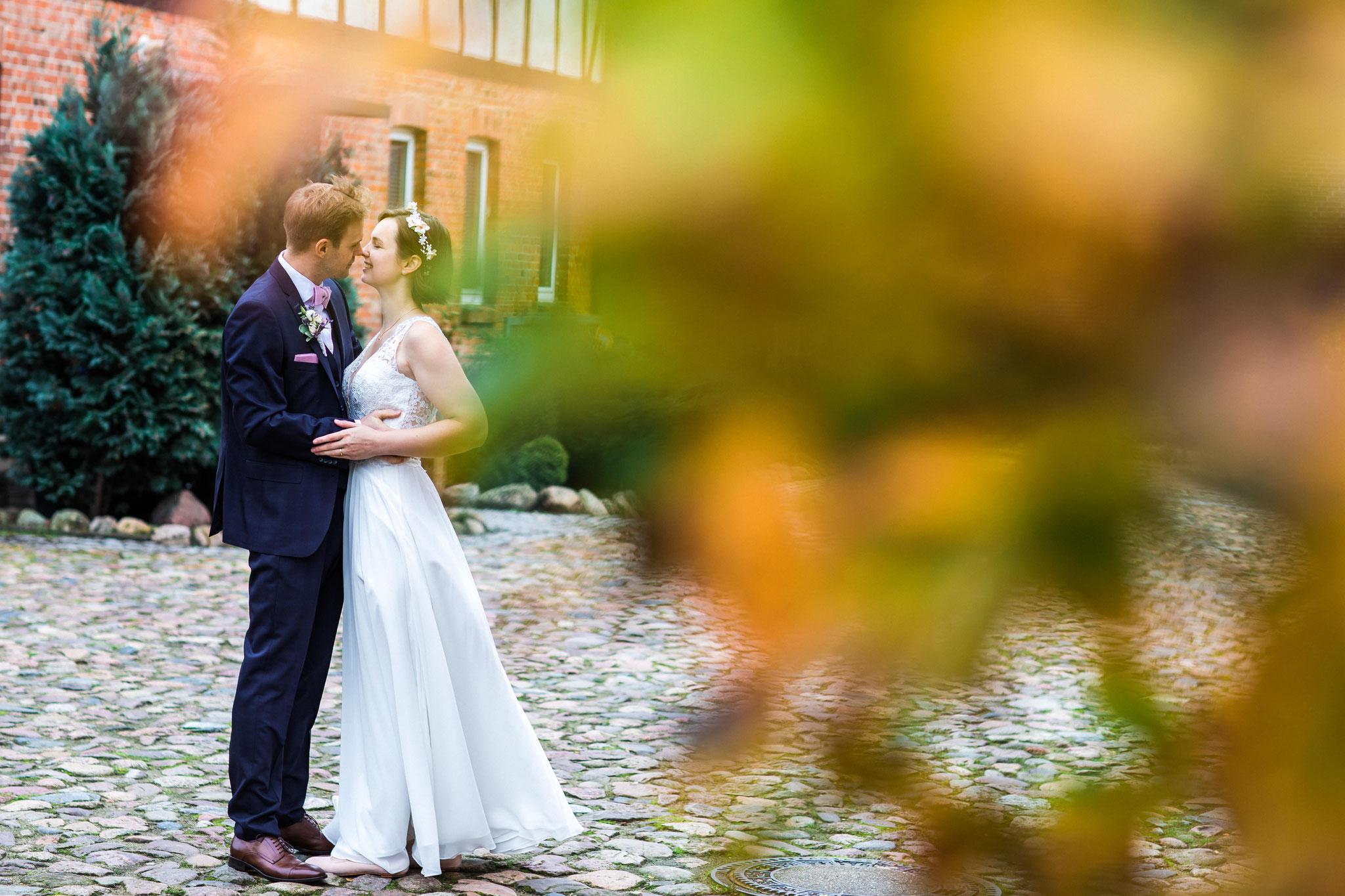 Brautpaar in Amelinghausen