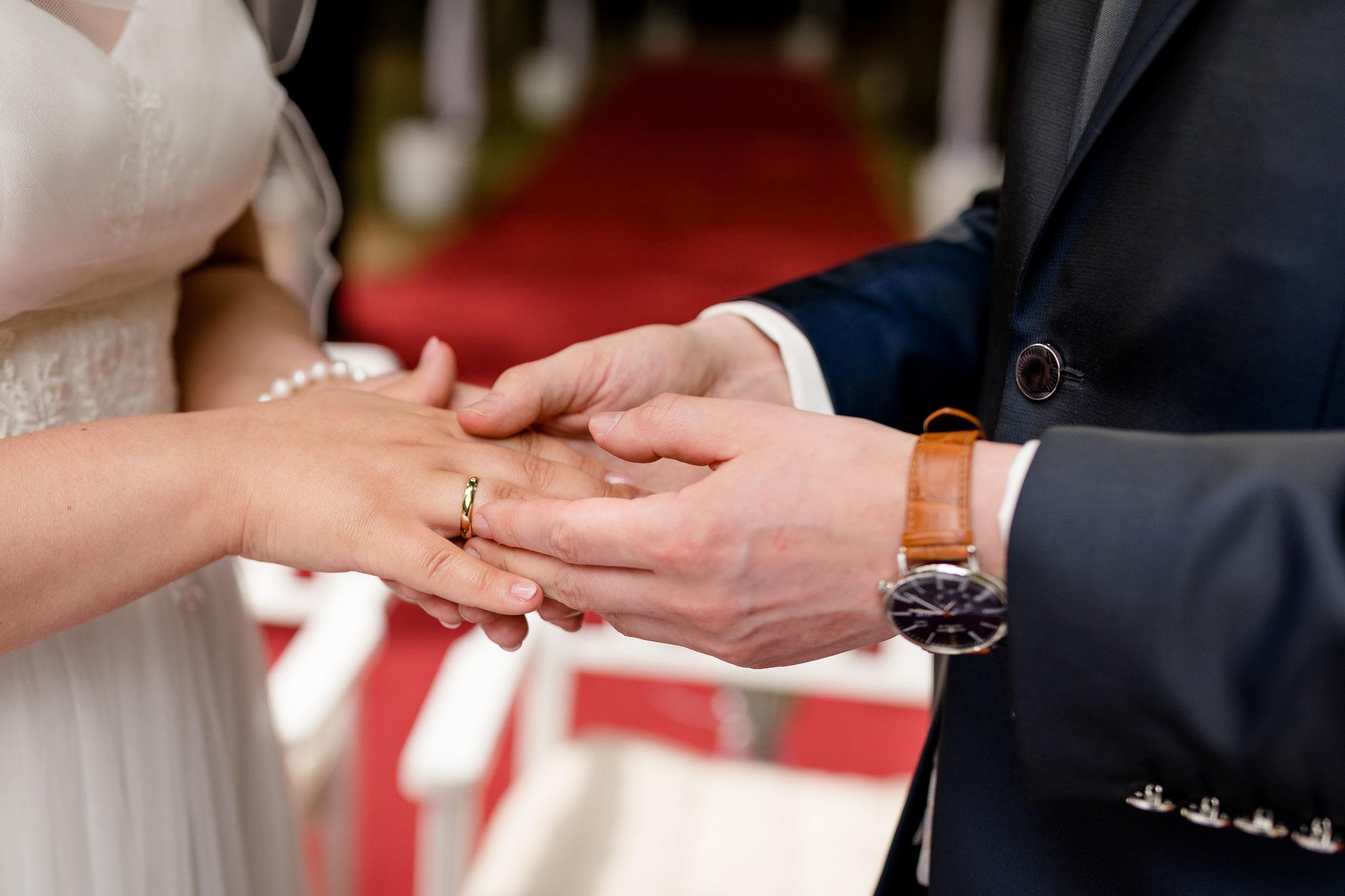 Hochzeit mit freier Trauung auf Schloss Eldingen