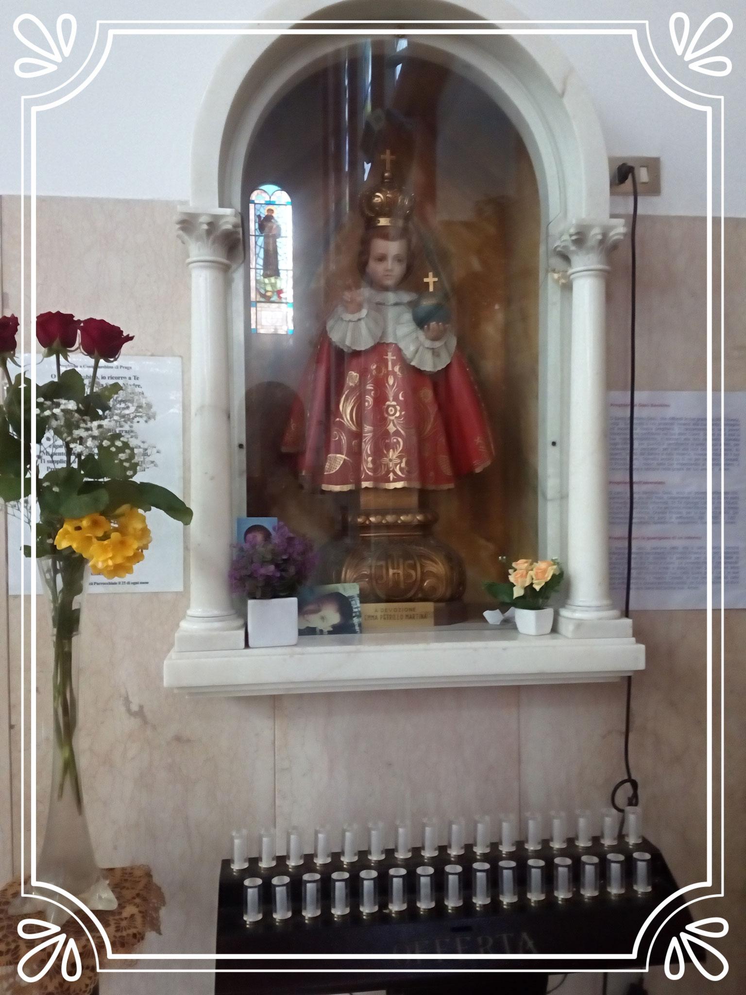 Culto a Gesù Bambino di Praga ogni 25 del mese