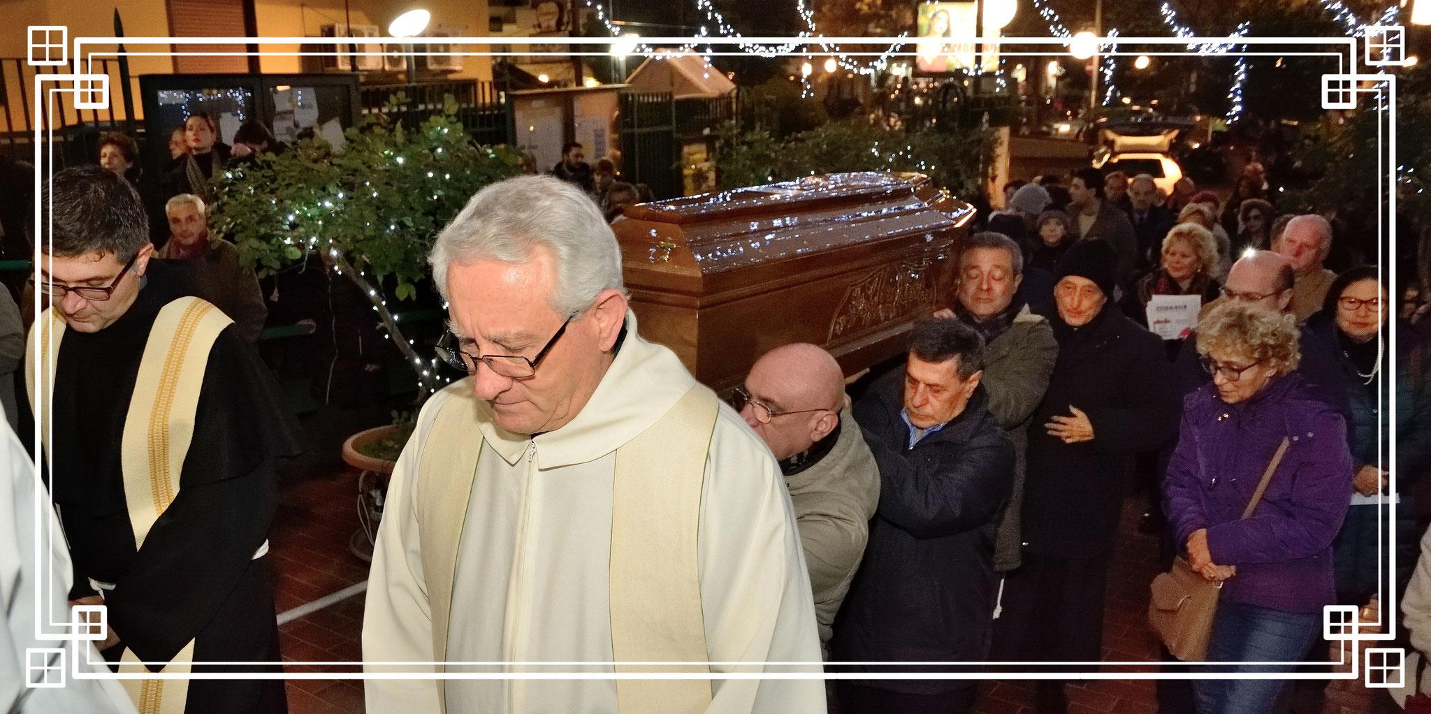 Ingresso dei resti mortali di fr. Egidio