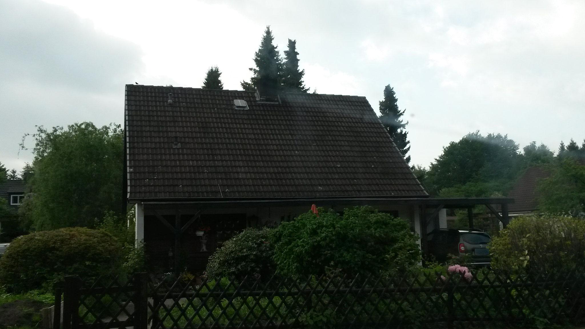 vor der Dachsanierung